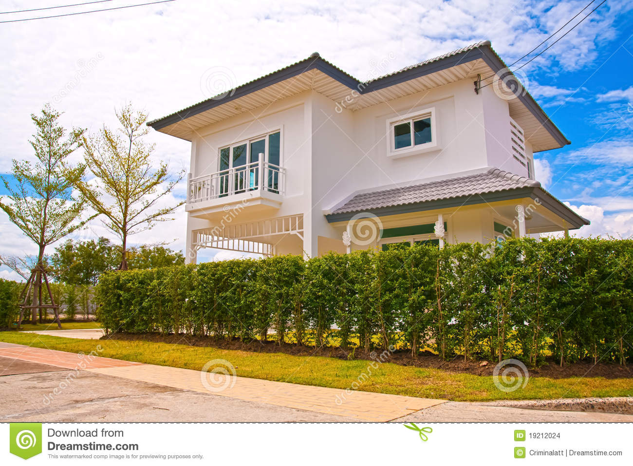 Thai modern style house stock images image 19212024 for Thai modern house style