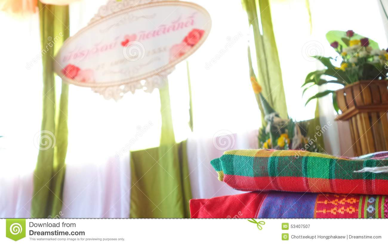 Traditional Wedding Gifts From Parents: Thai Northeast Traditional Wedding Editorial Photography