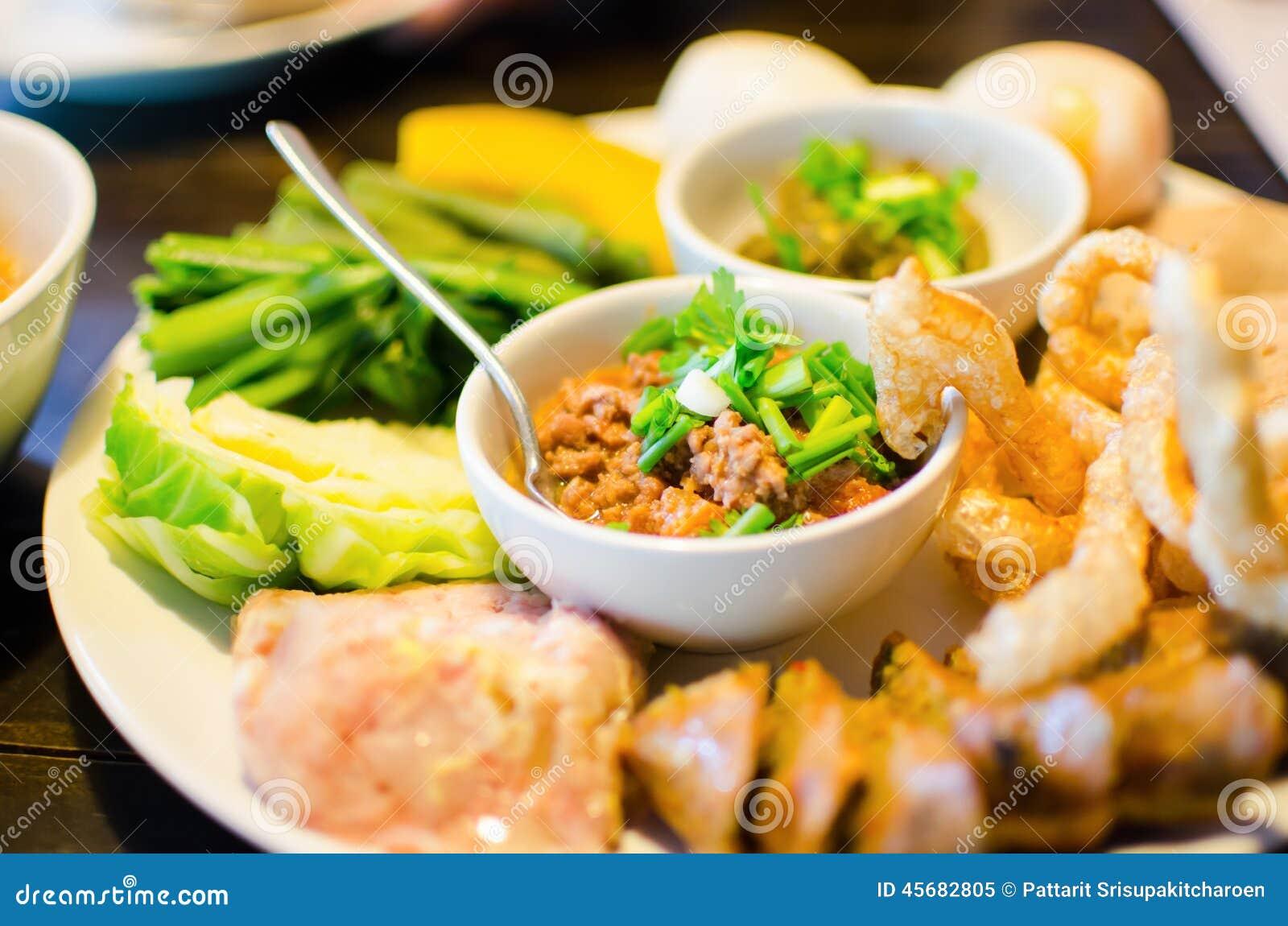 Thai Northern Style Pork and Tomato Relish