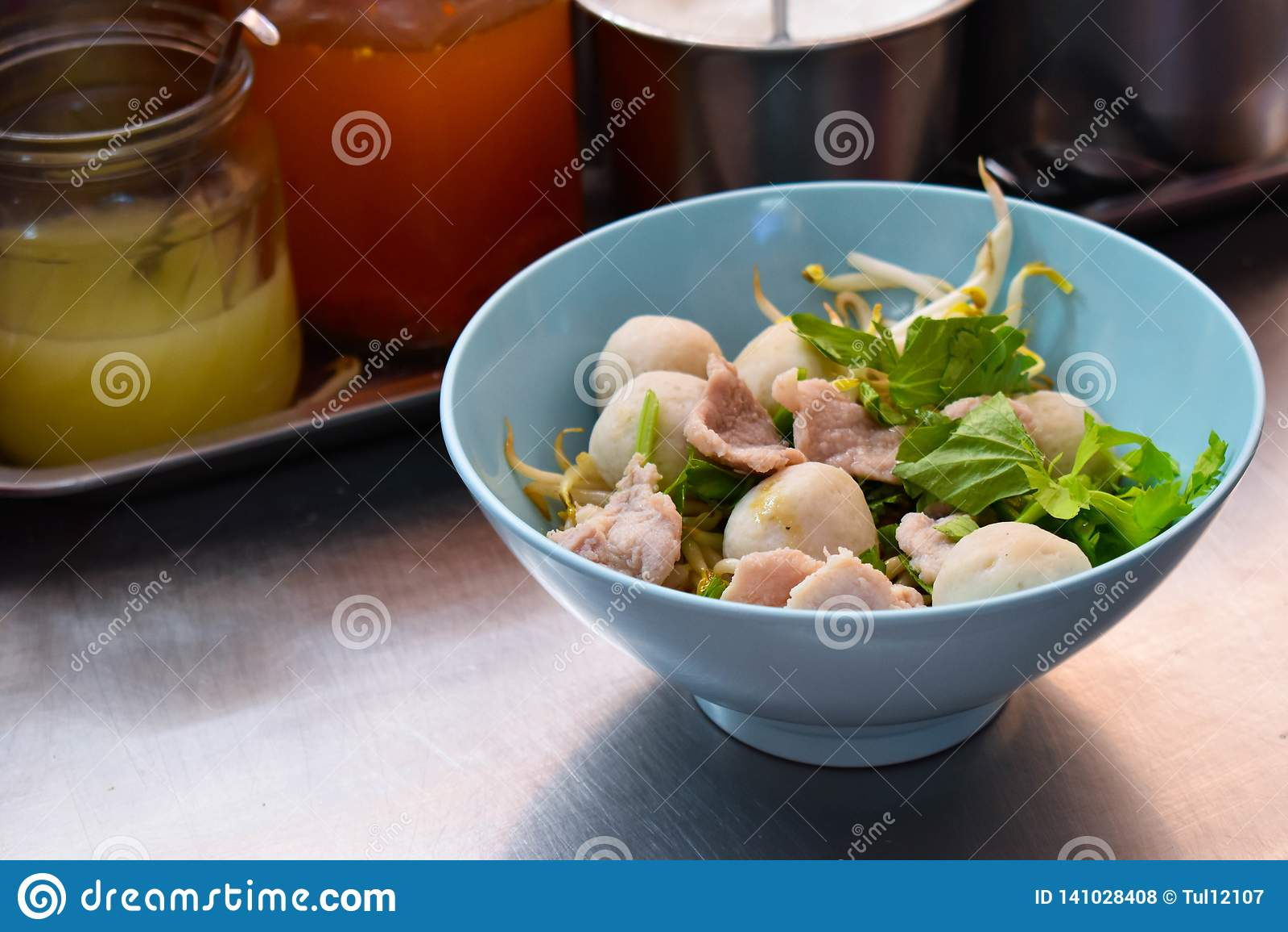 Thai nudelstil