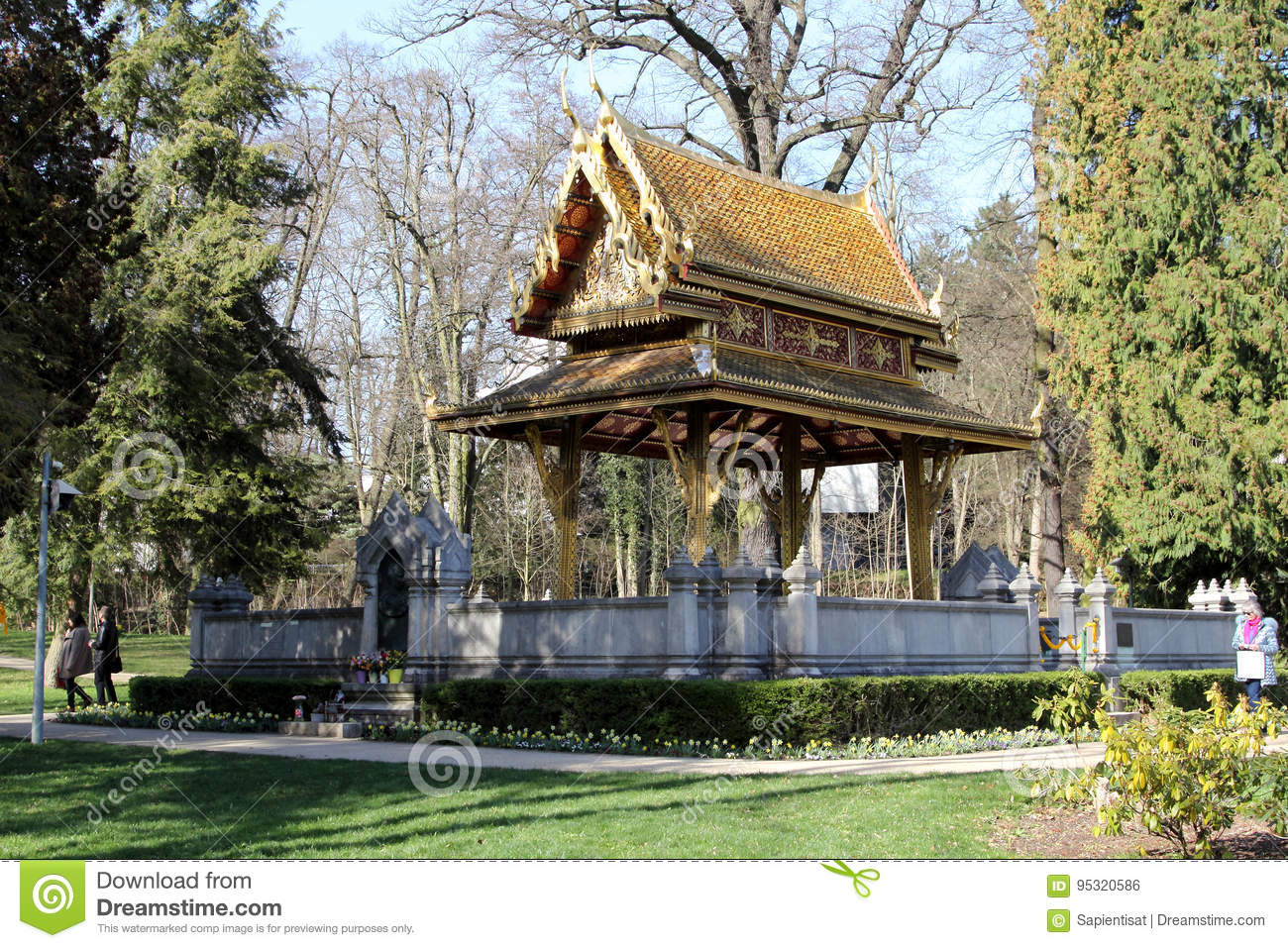 Thai Salo Temple In Bad Homburg