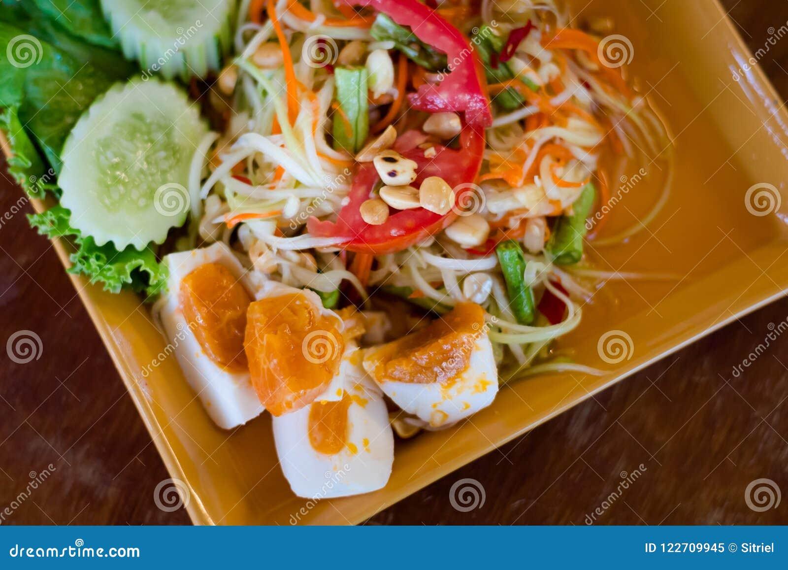 Asian salads island