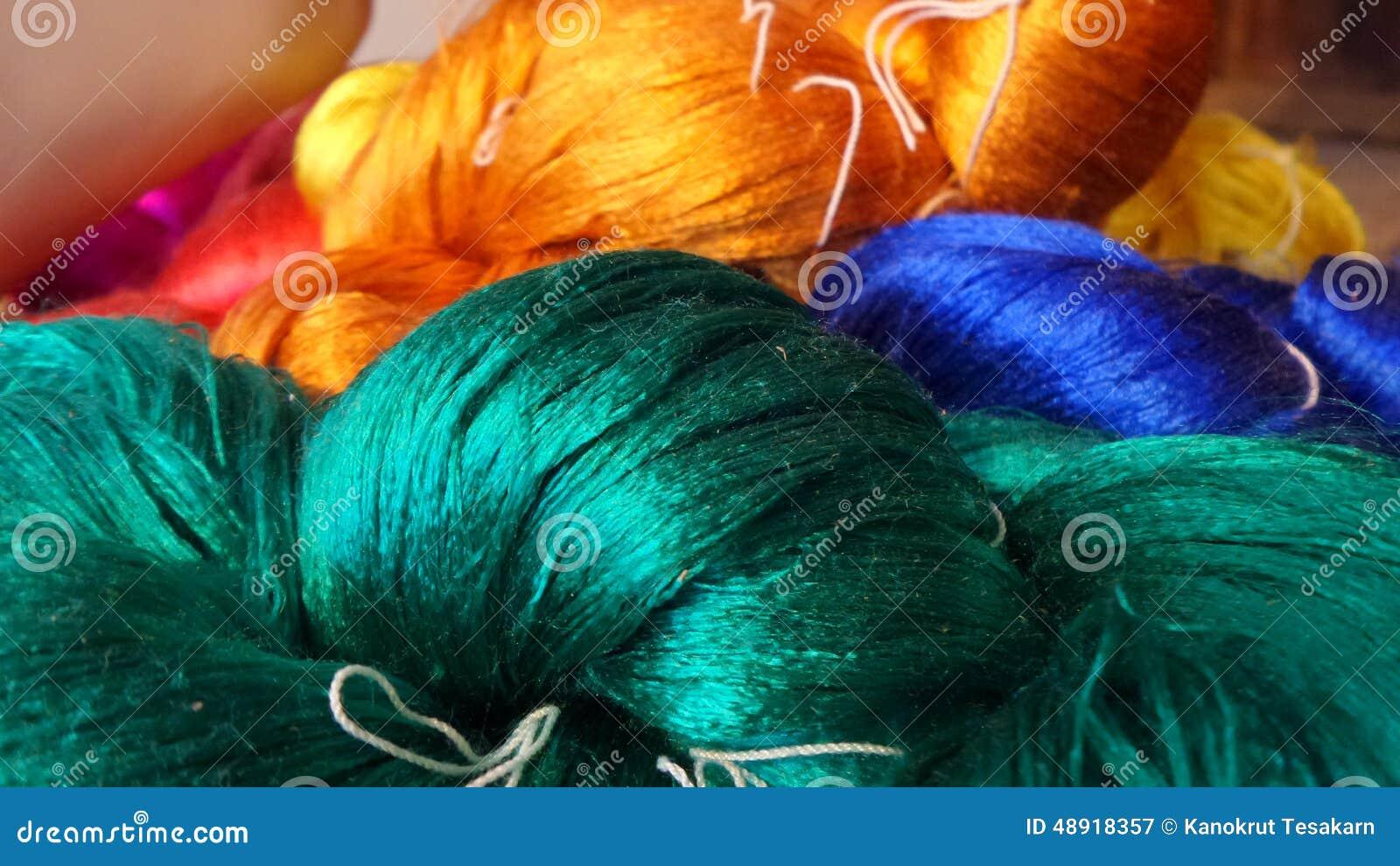 Thai silk thread