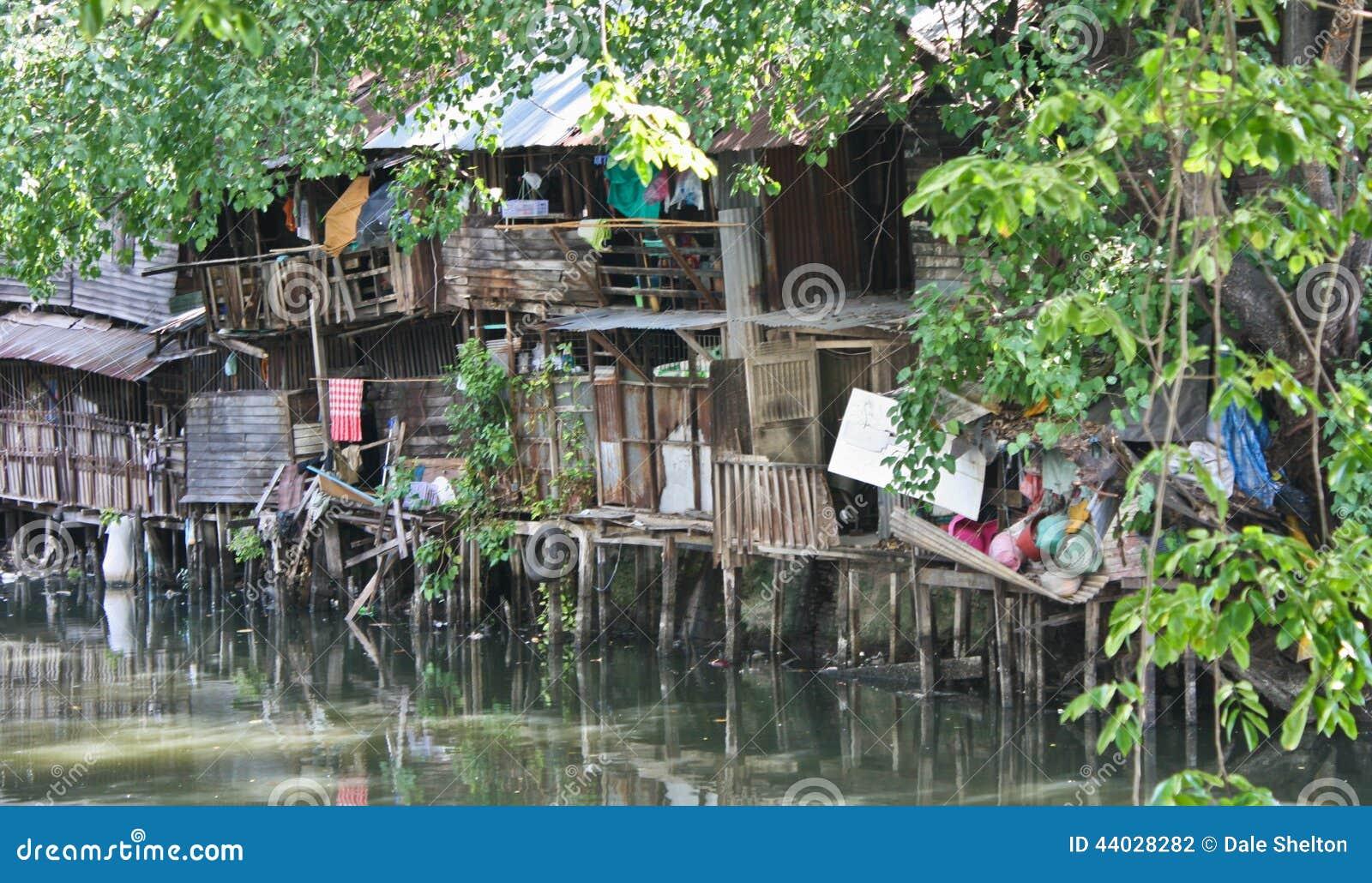 Thai Slums Editorial Photography Image 44028282