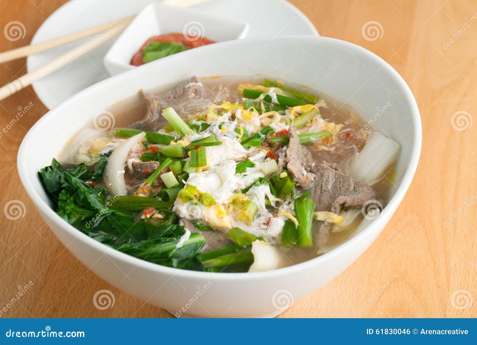 Thai Food Clear Noodles