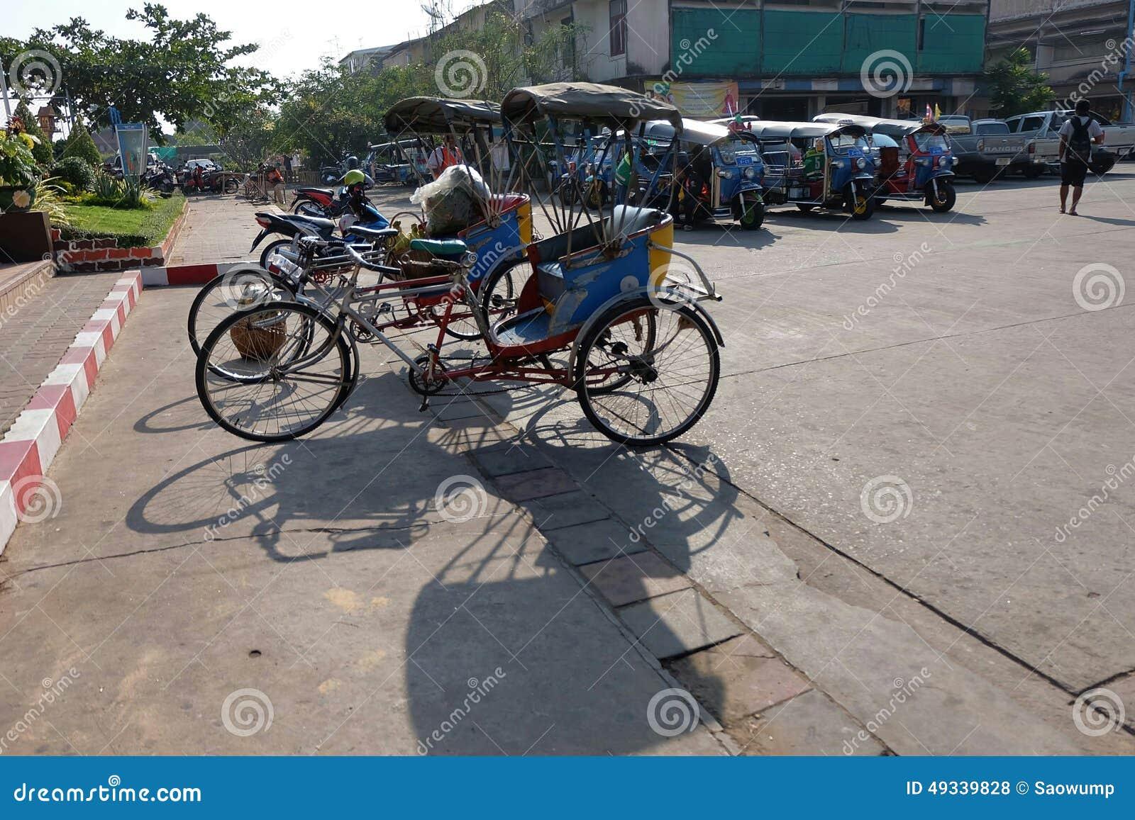 Thai stil för trehjuling