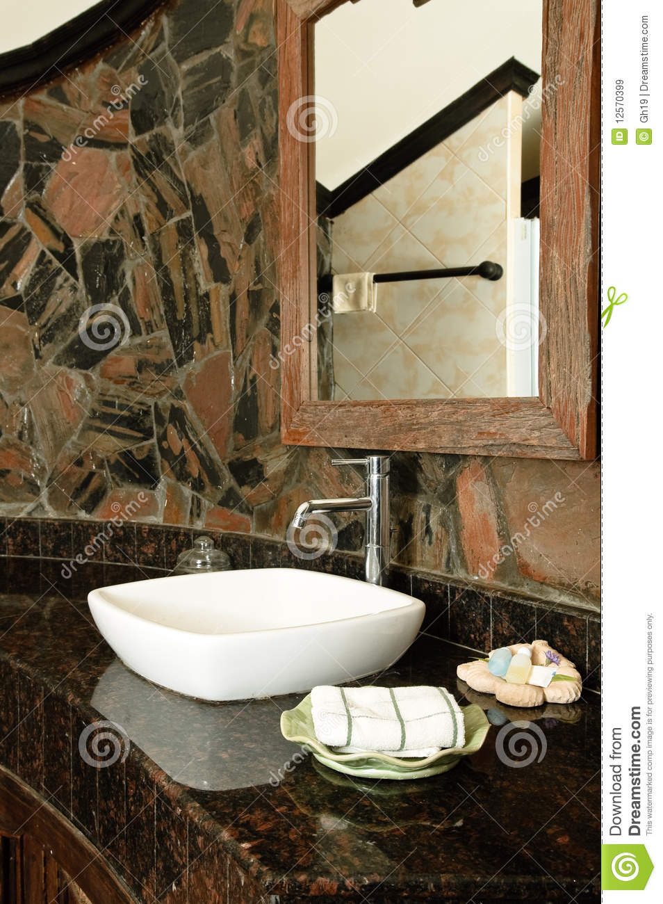 Thai Style Bathroom Royalty Free Stock Images - Image ...