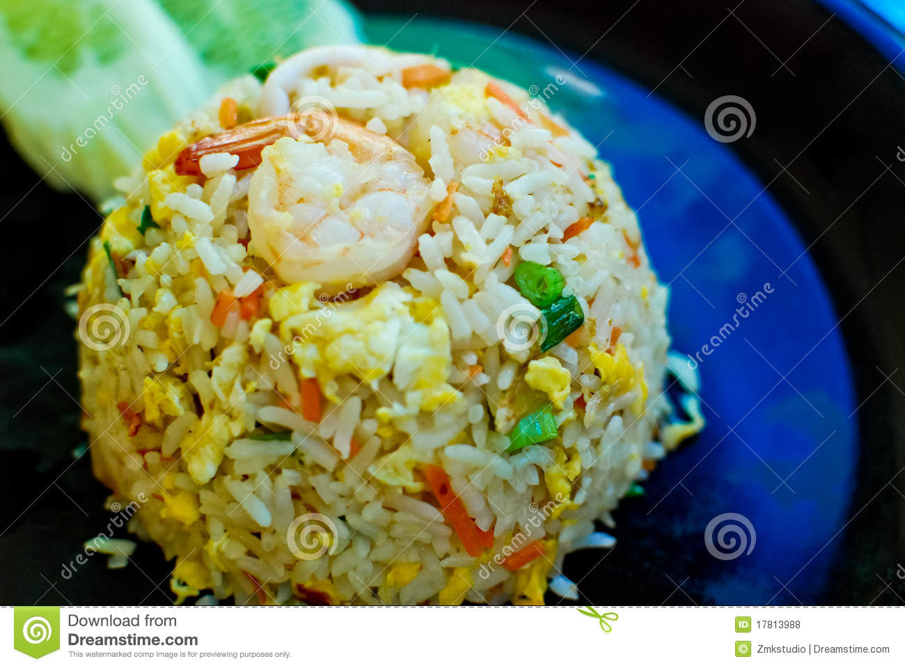 Thai Style Fried Rice Royalty Free Stock Photos - Image: 17813988