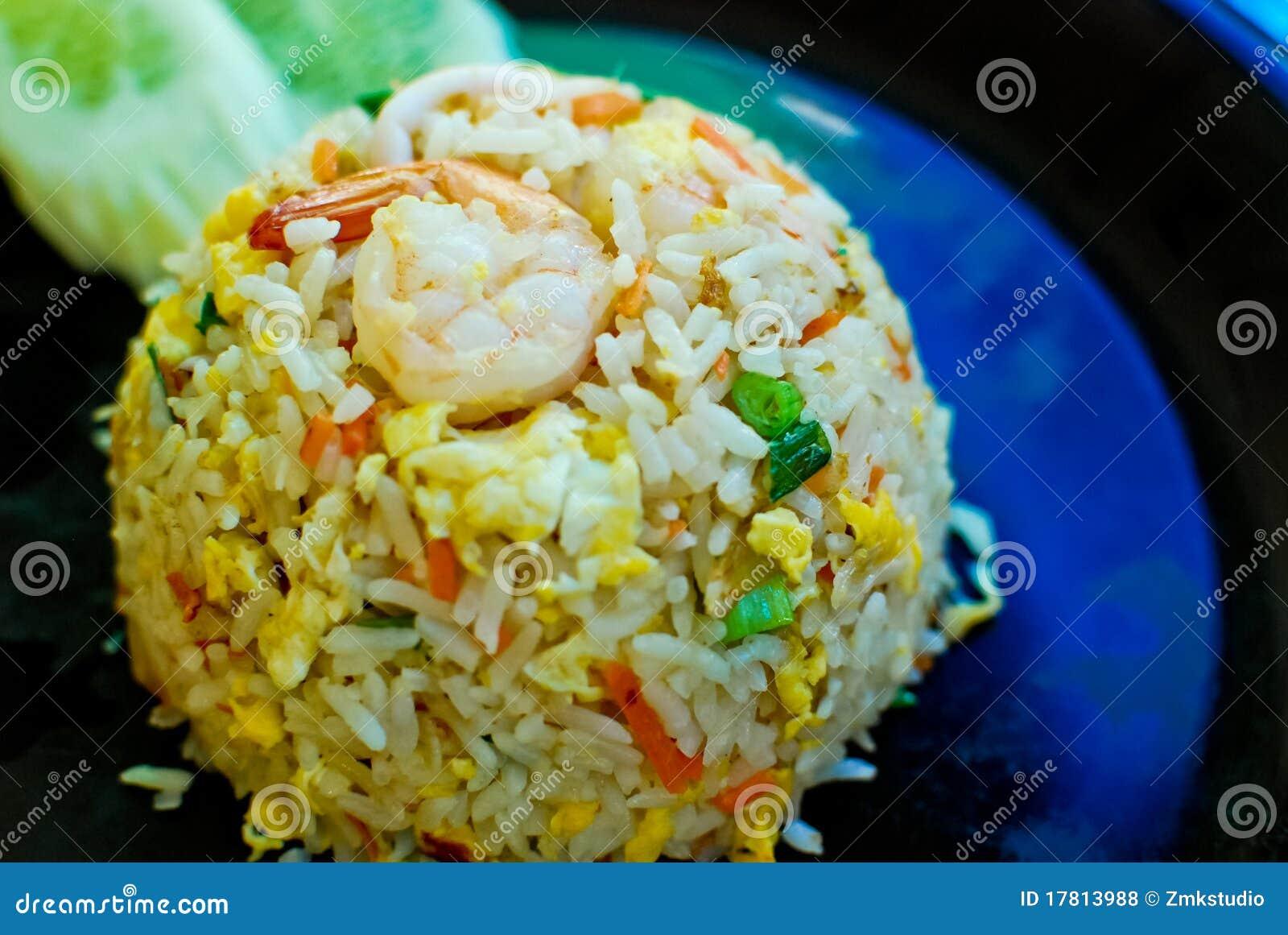 Thai Style Fried Rice Royalty Free Stock Photos - Image: 17813988