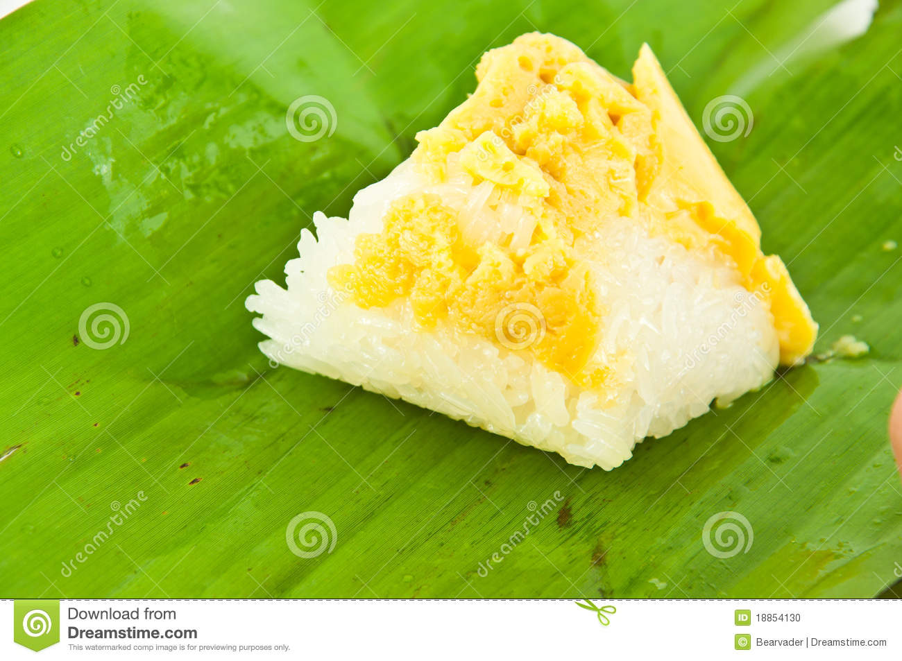 how to prepare sweet rice
