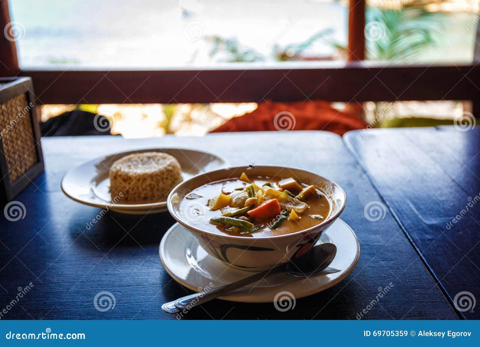 Thai tasty soup