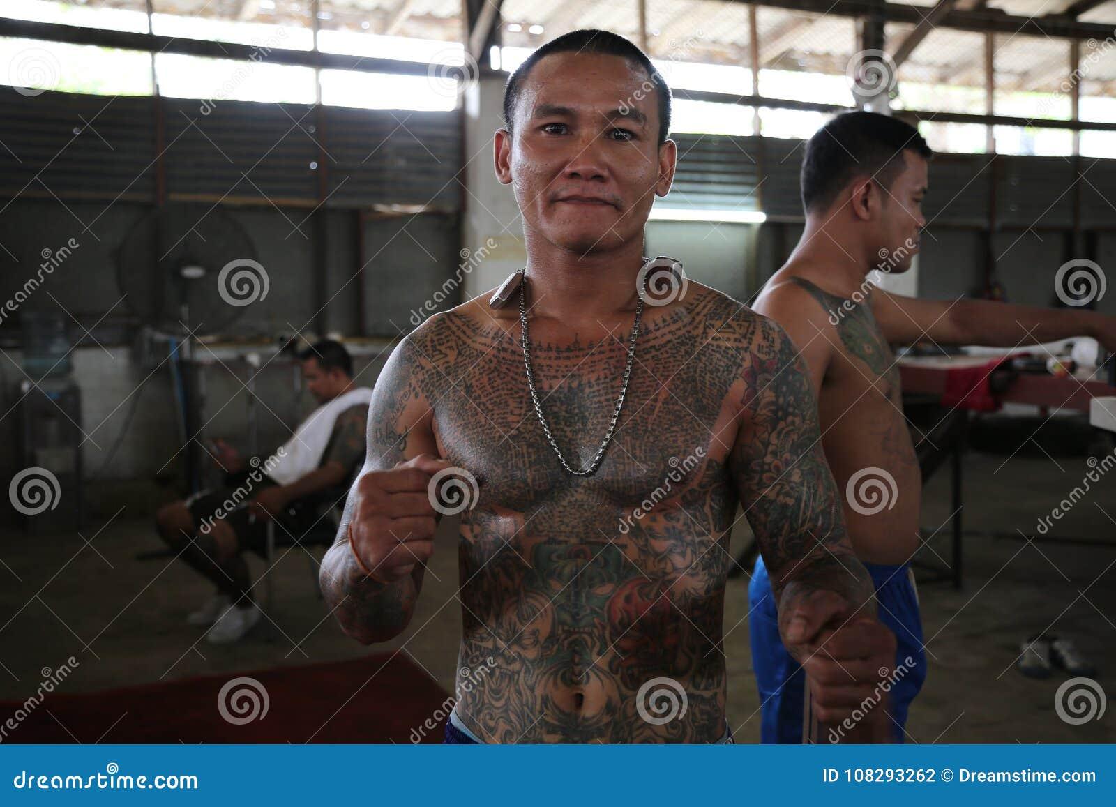 Muay Thai Prison Fighter