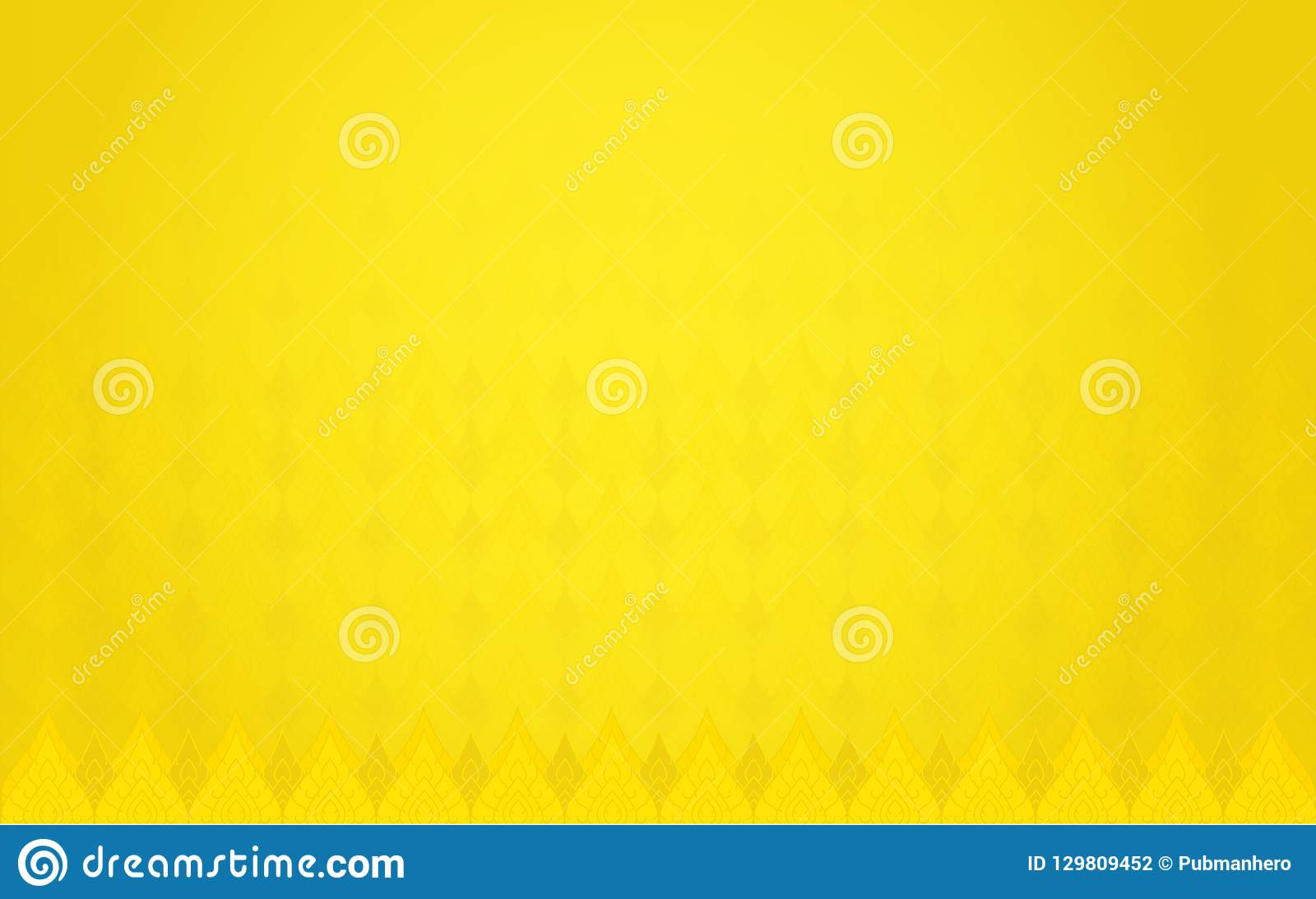 6e2974b5f4d Thai Tradition Gold Color Background Bright Background Stock Vector ...