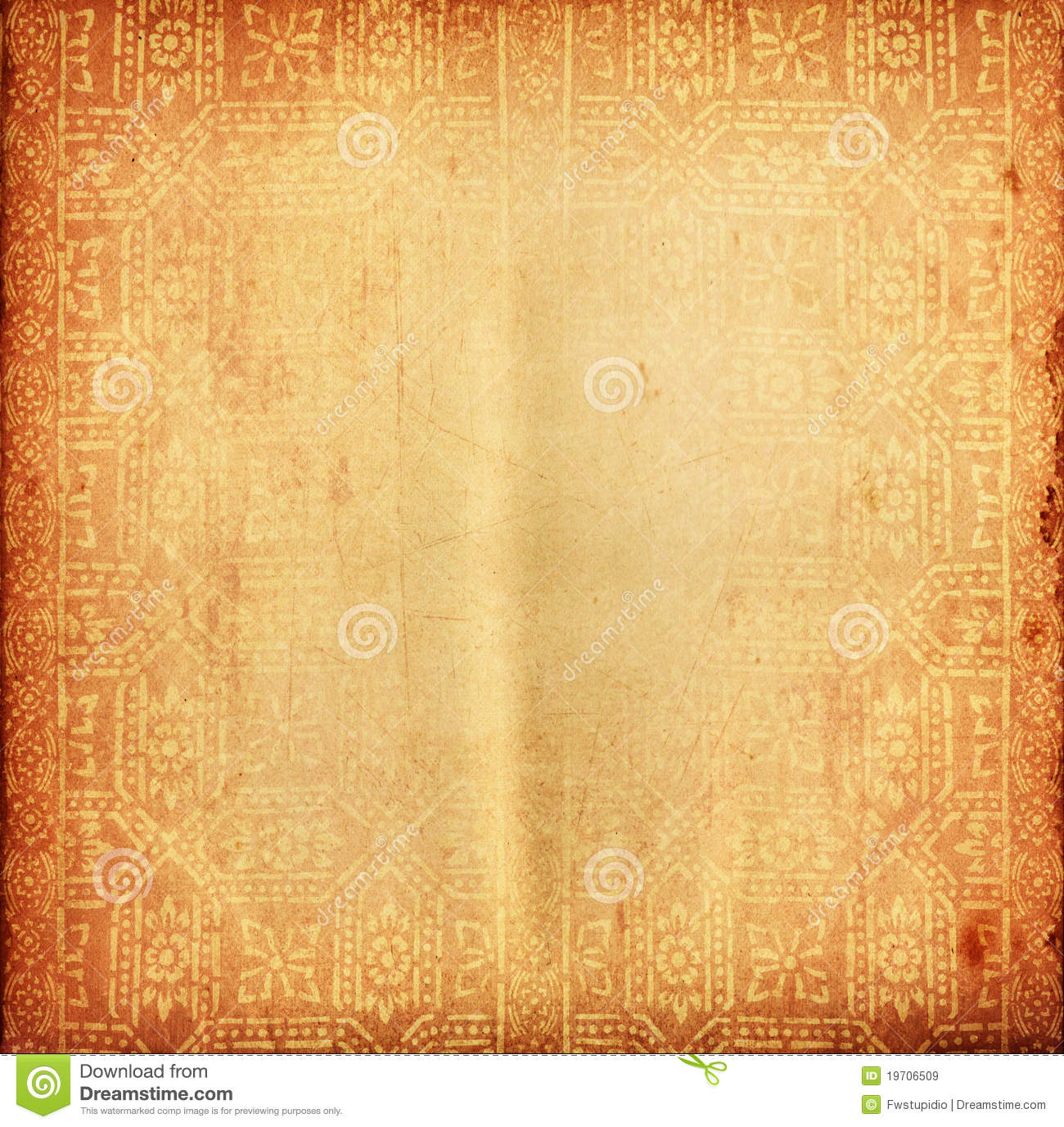 Thai Tradition Old Paper For Text And Background Royalty Free Stock ...
