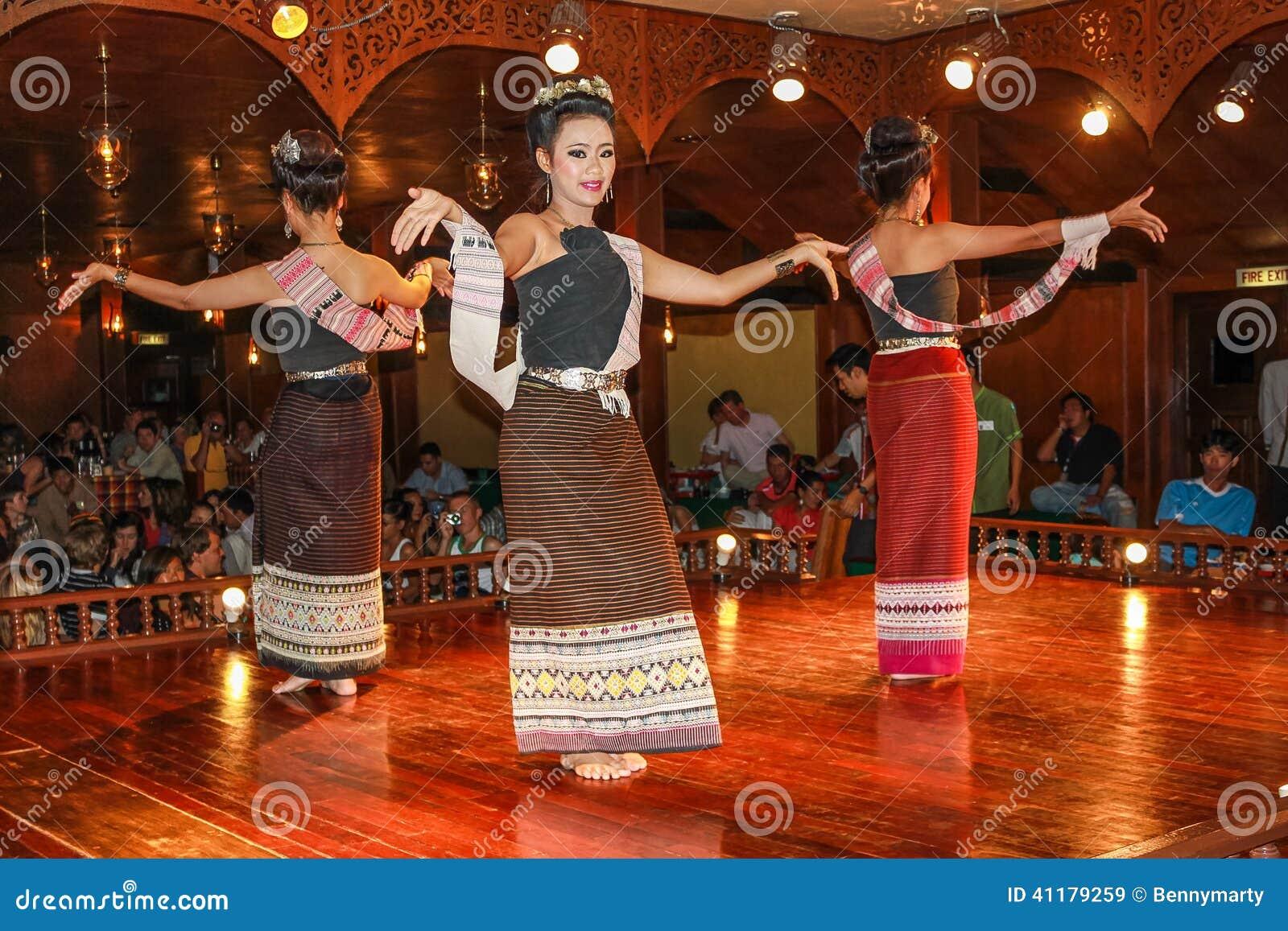 Thai Traditional Dances Editorial Stock Image - Image ...
