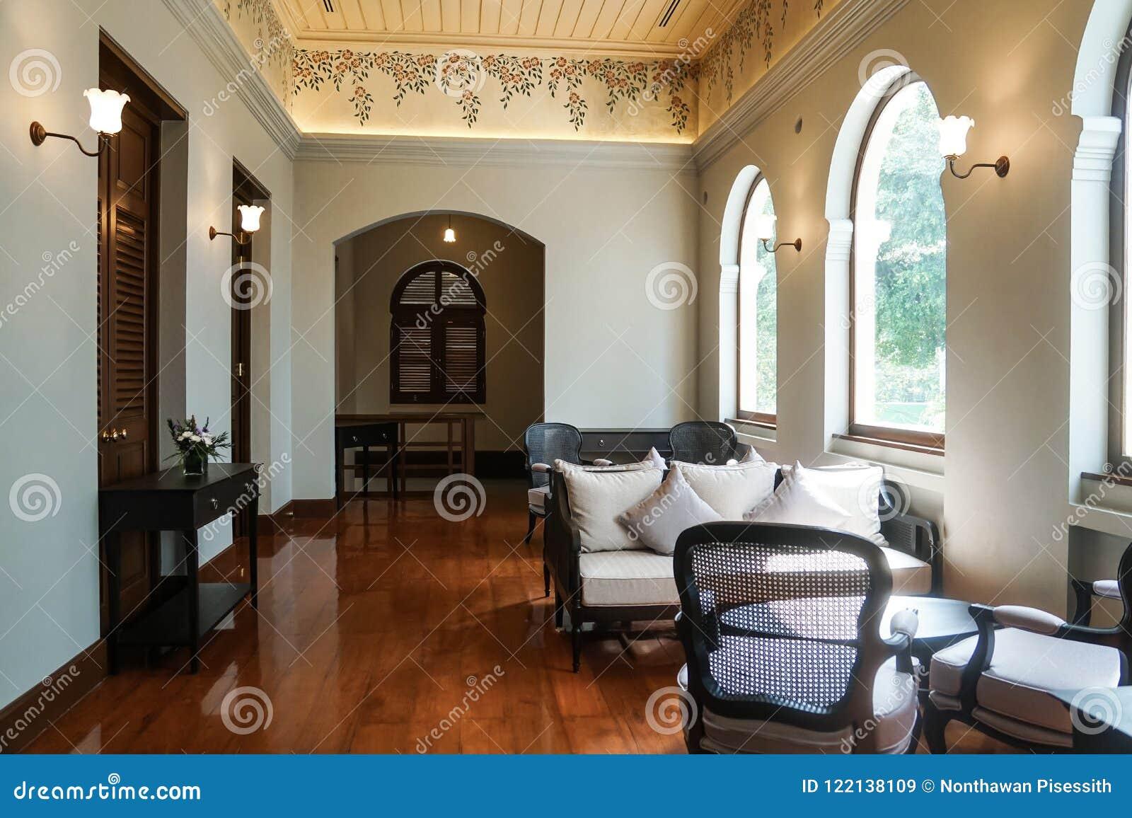 . Thai Traditional Interior Design Antique Furniture Colonial
