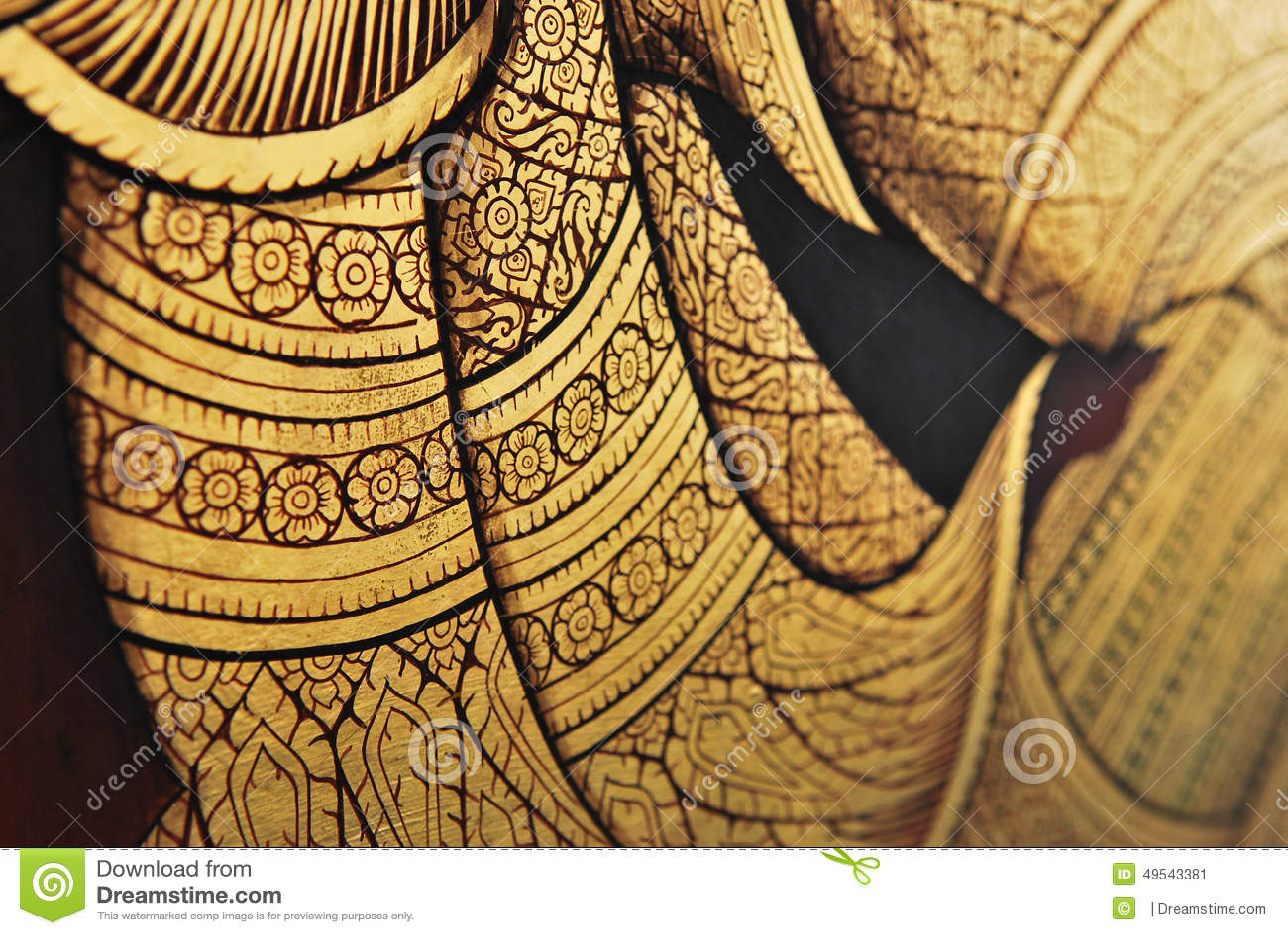 Thai väggmålning
