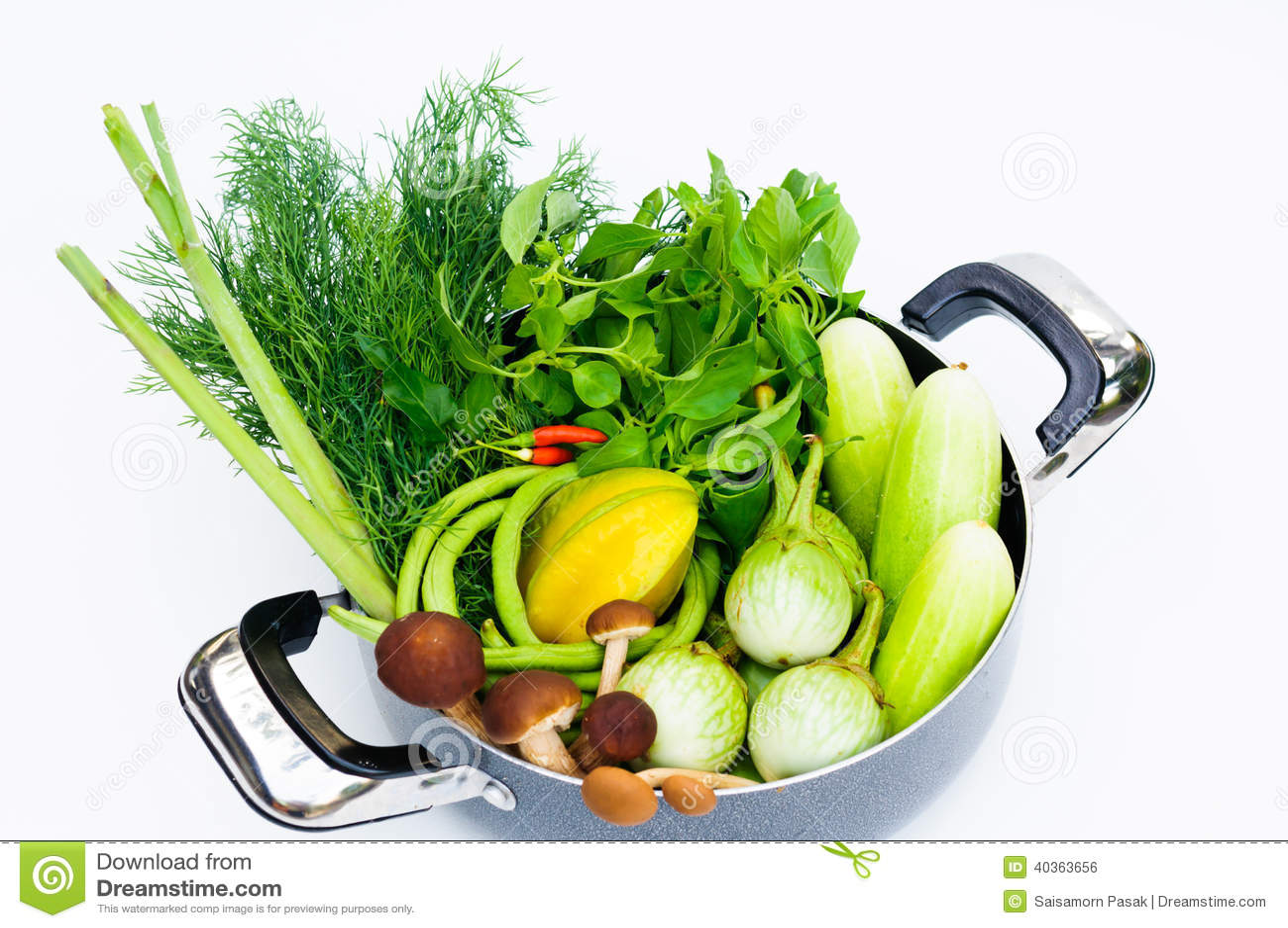 Thai vegetable mix