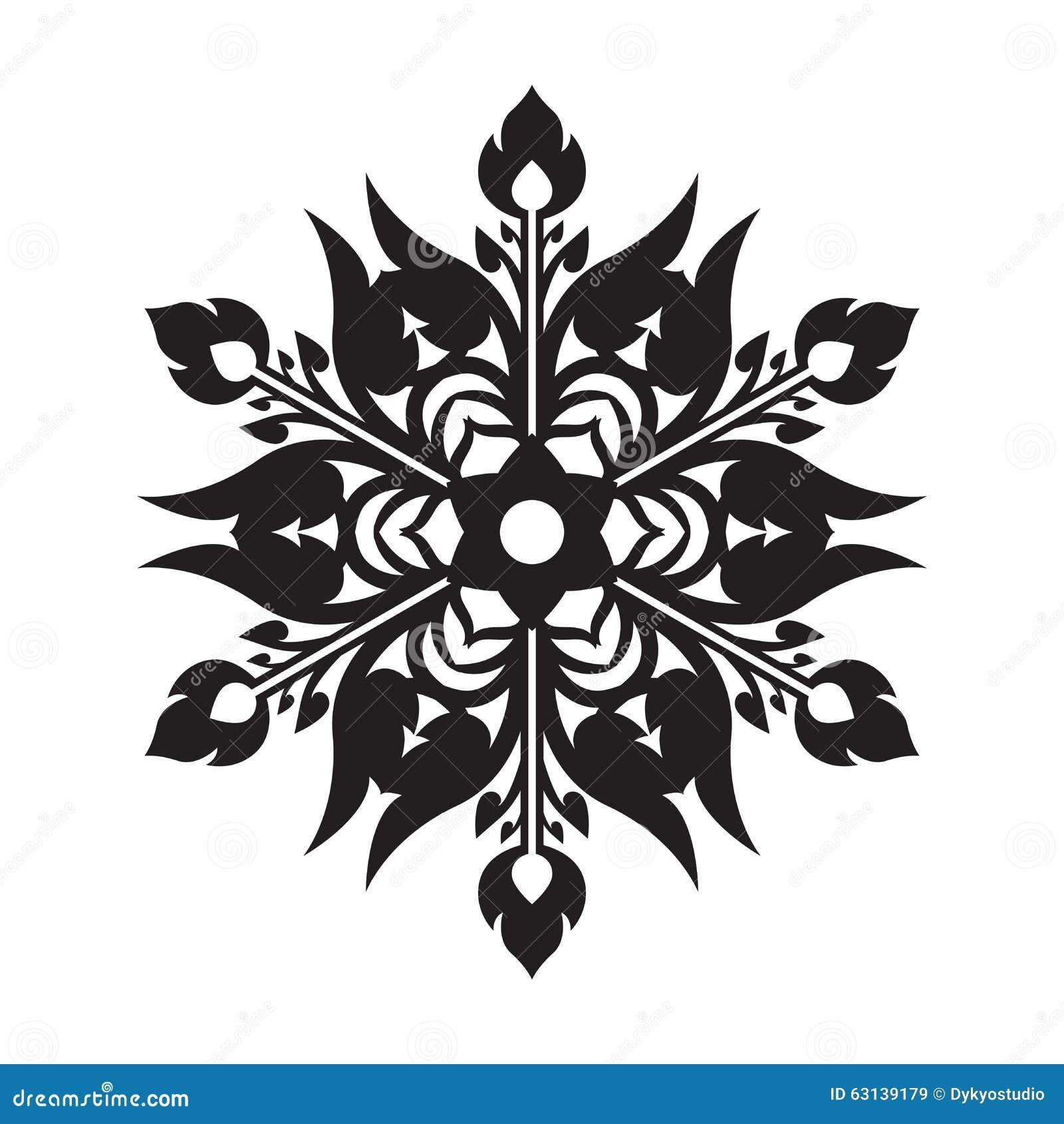 Art snowflake