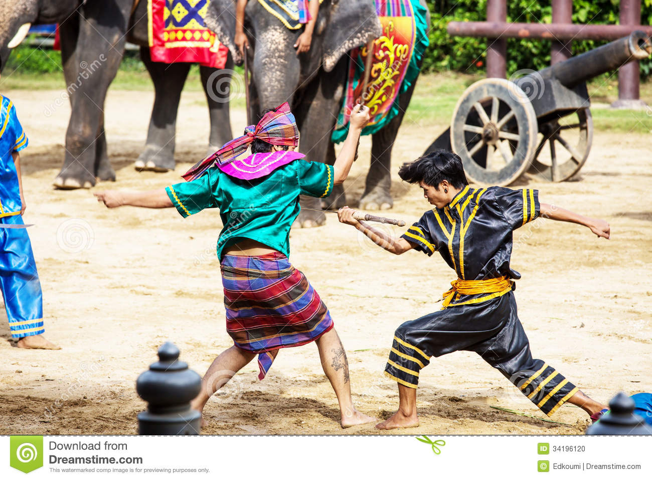 Thai Elephant Warrior Thai Warrior