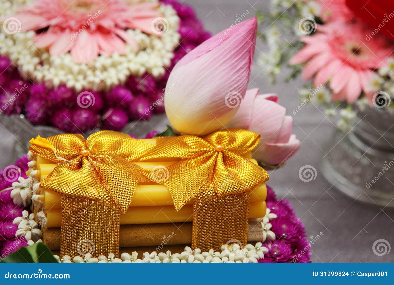Thai Wedding Decoration Details Stock Images Image 31999824