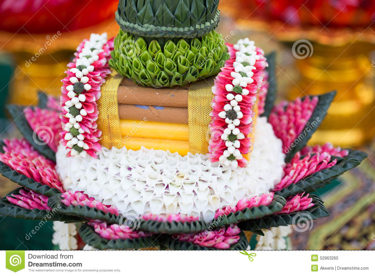 Thai Wedding Gift Stock Image Image Of Forestry Groom 52963265