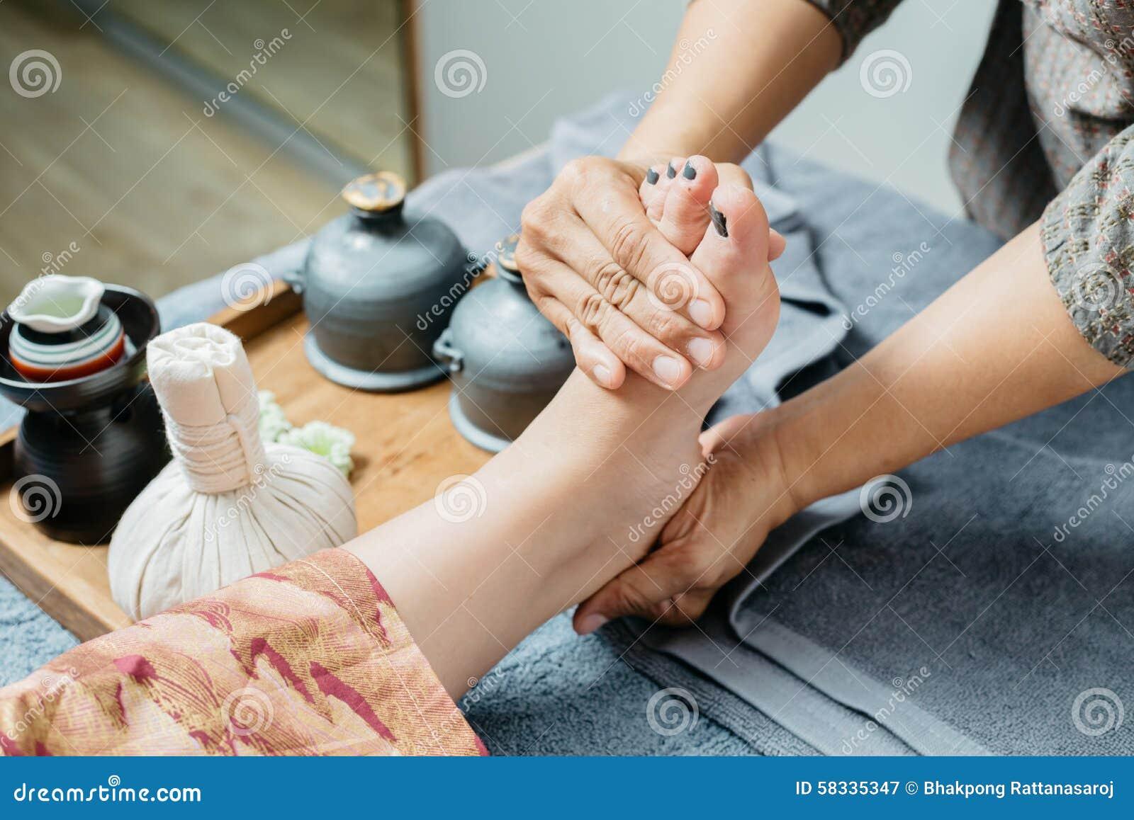Thailändische Massage-Reihe