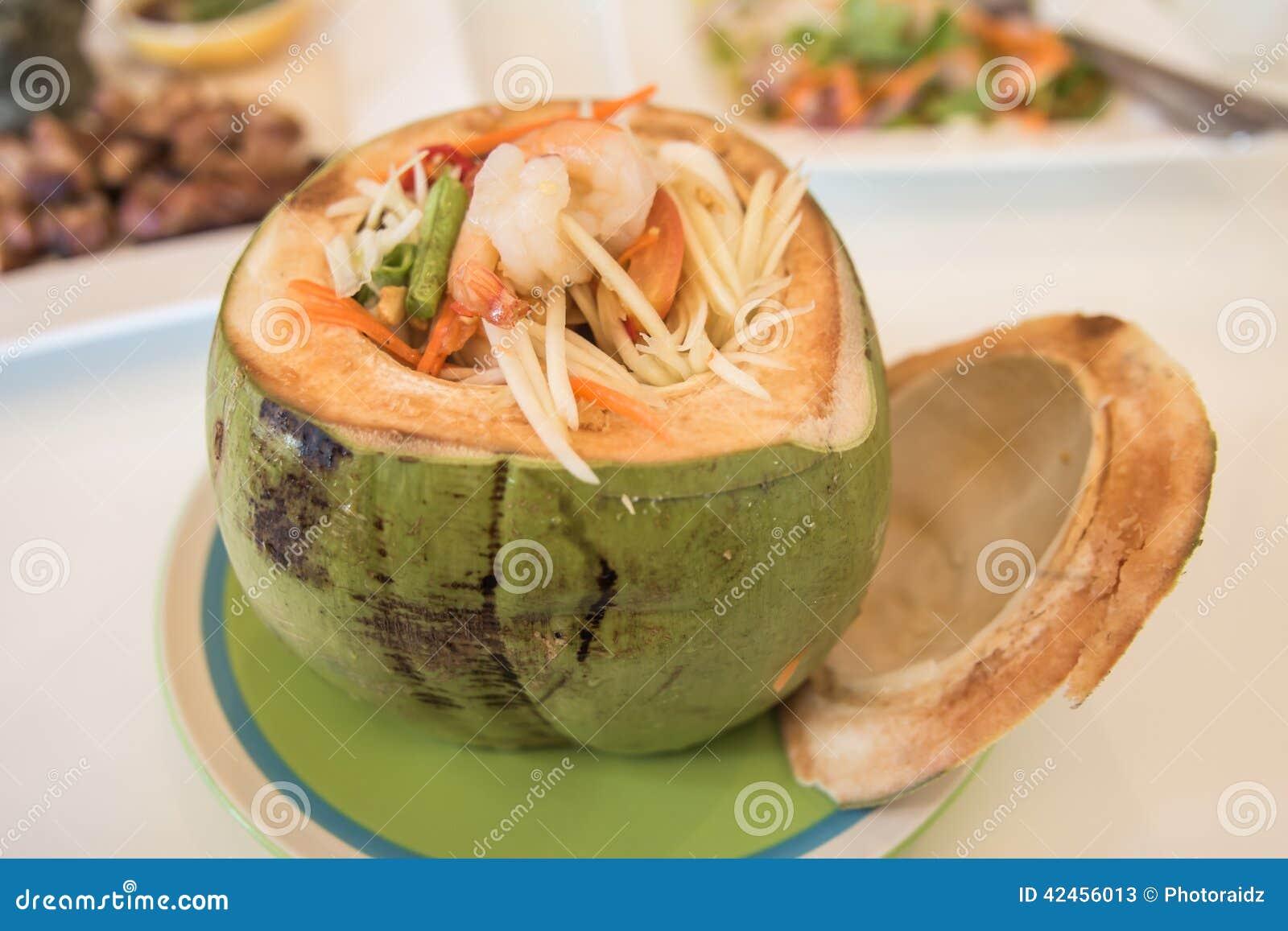 Thailändische Papaya