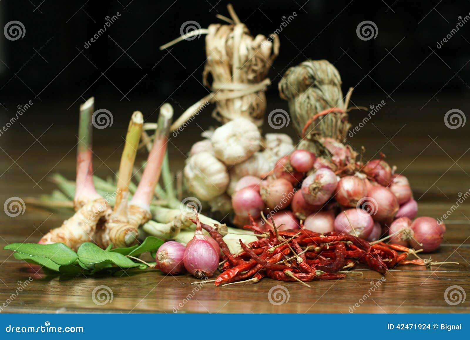 Thailändischer Curry Bestandteil