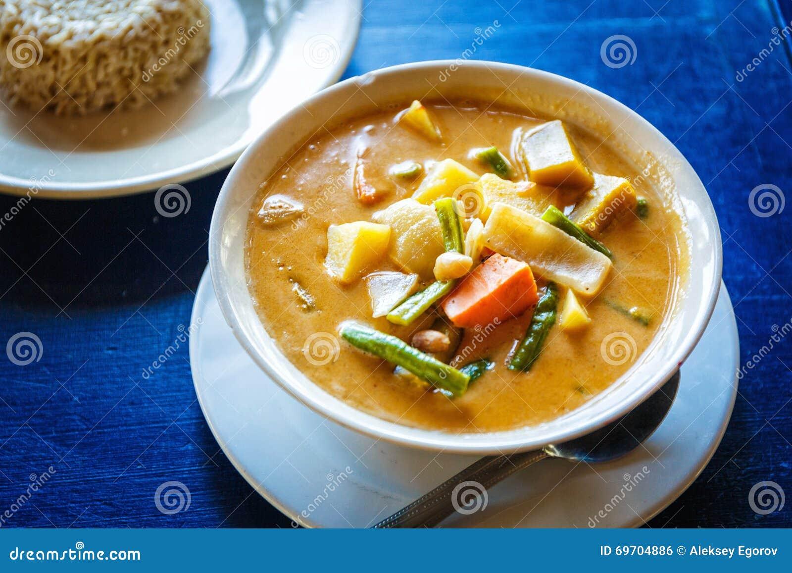 Thailändsk smaklig soppa