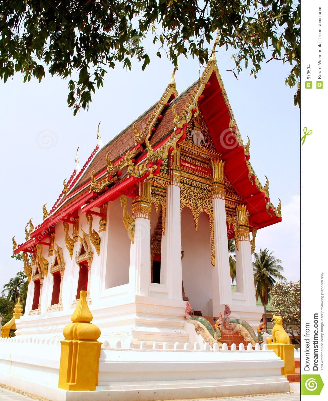 Thailand architecture style 03 stock images image 679504 for Thailand architecture