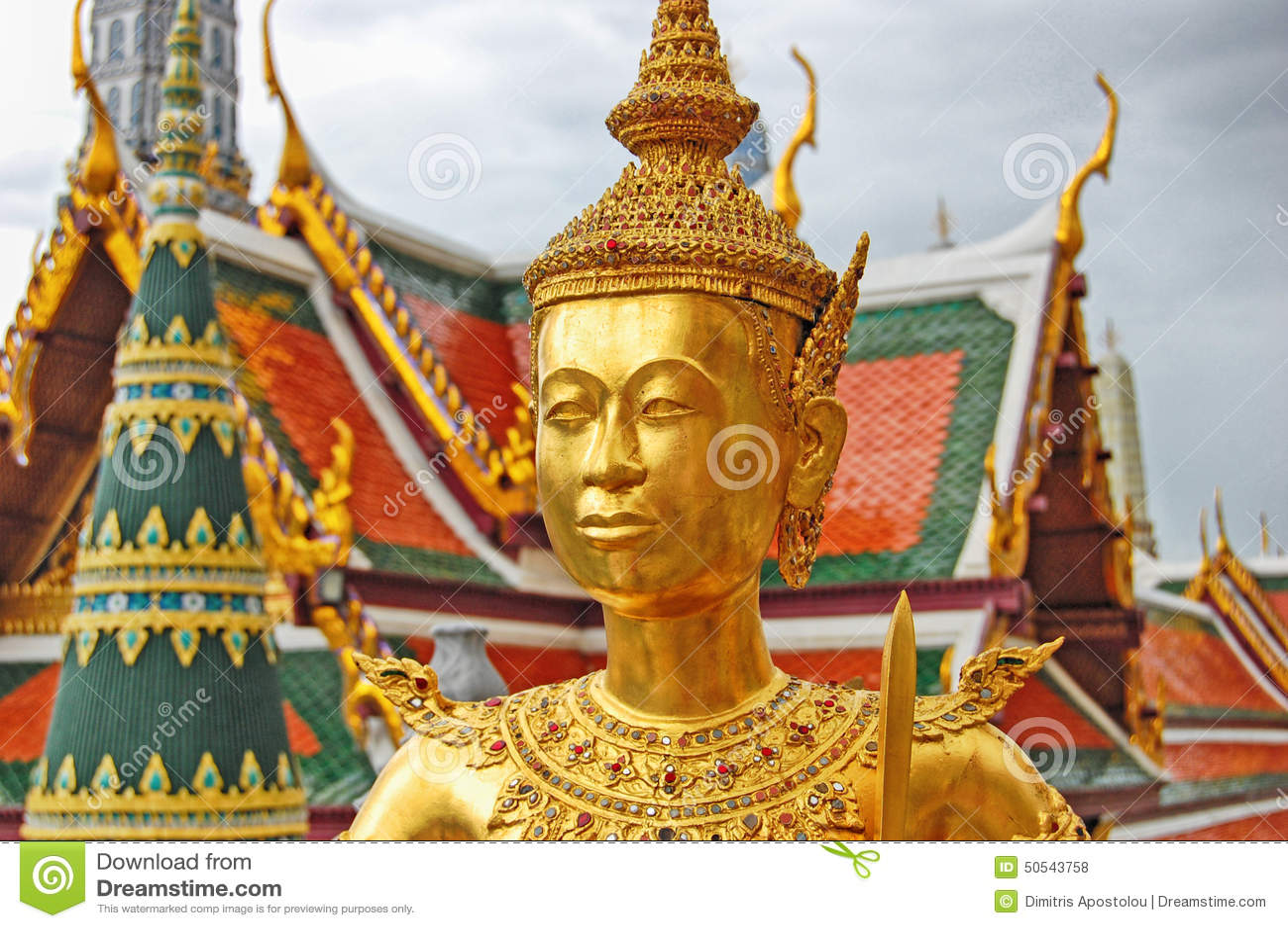 Thailand Bangkok het Grote Paleis