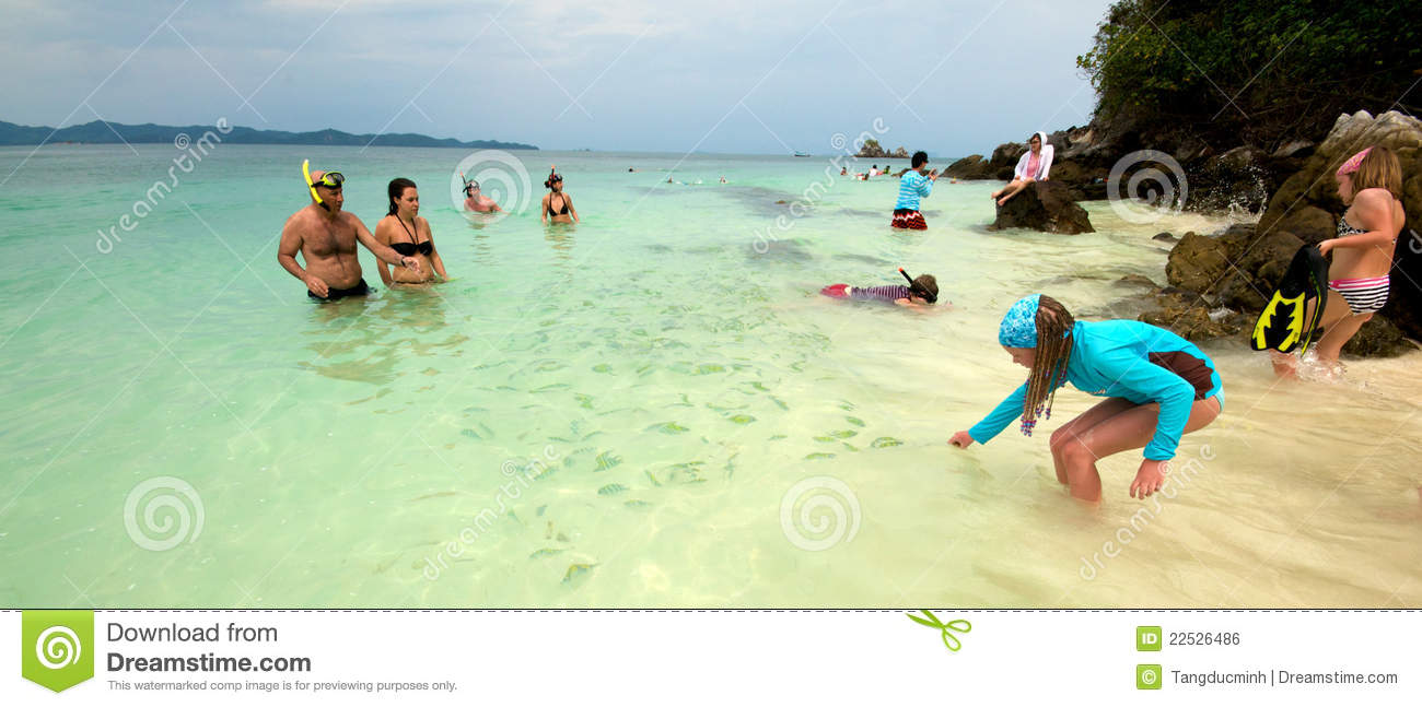 Thailand beach vacation editorial photo image 22526486 for Best beach vacations in march