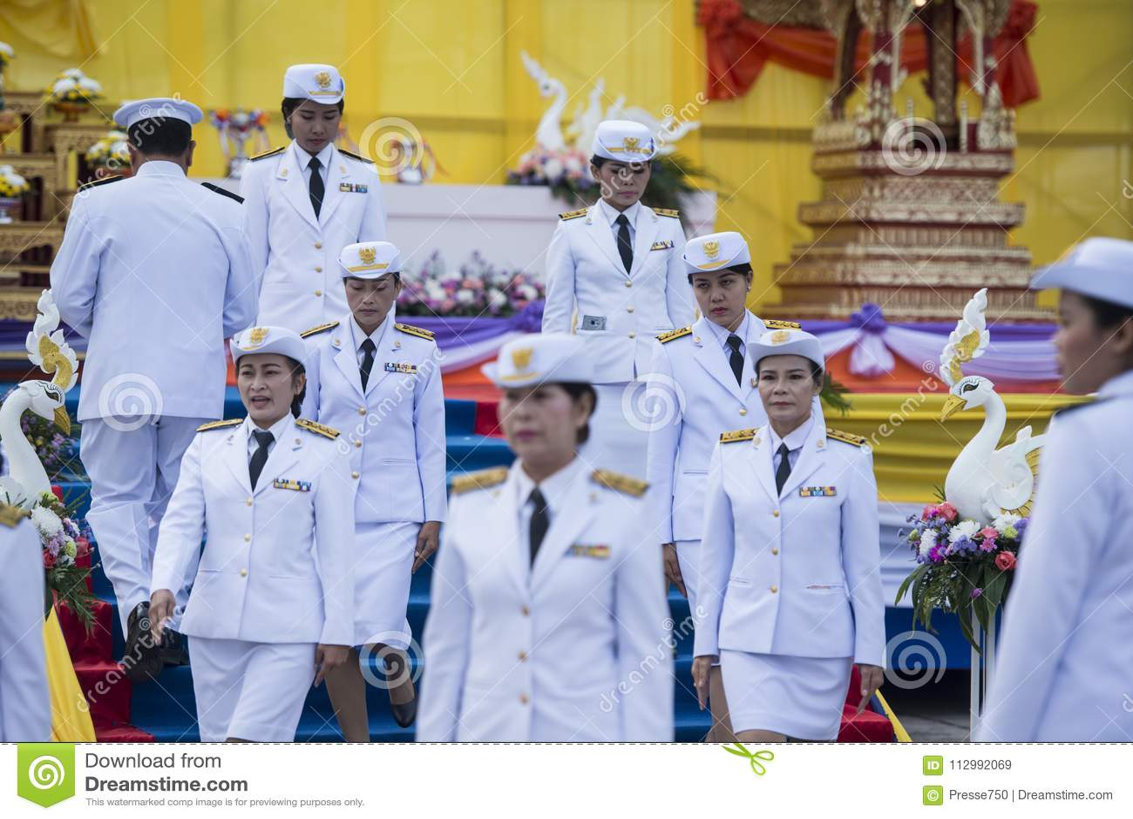 THAILAND BURIRAM SATUEK LONGBOAT RACE ARMY