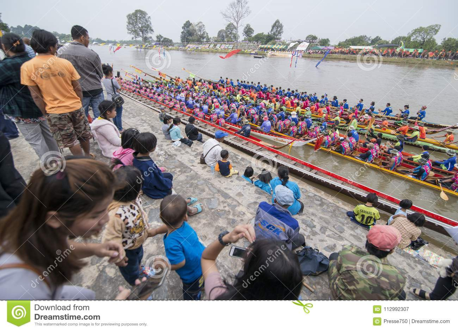 THAILAND BURIRAM SATUEK LONGBOAT RACE