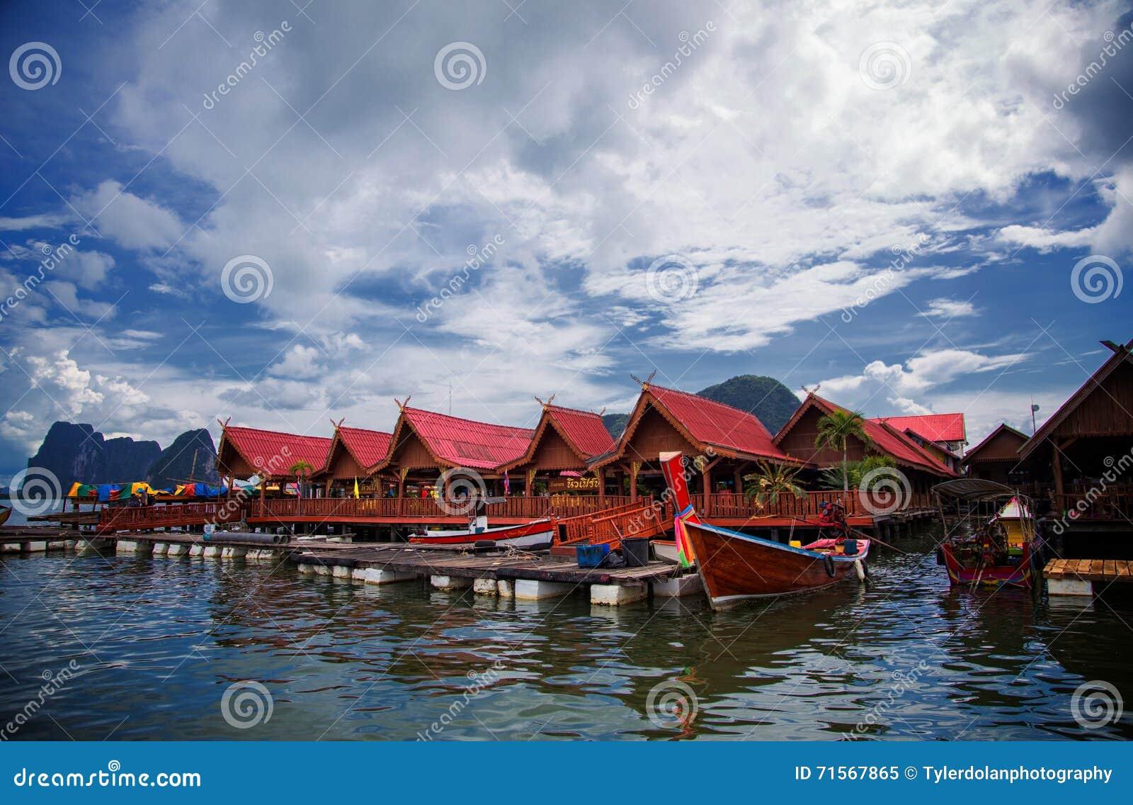 Thailand Floating Market