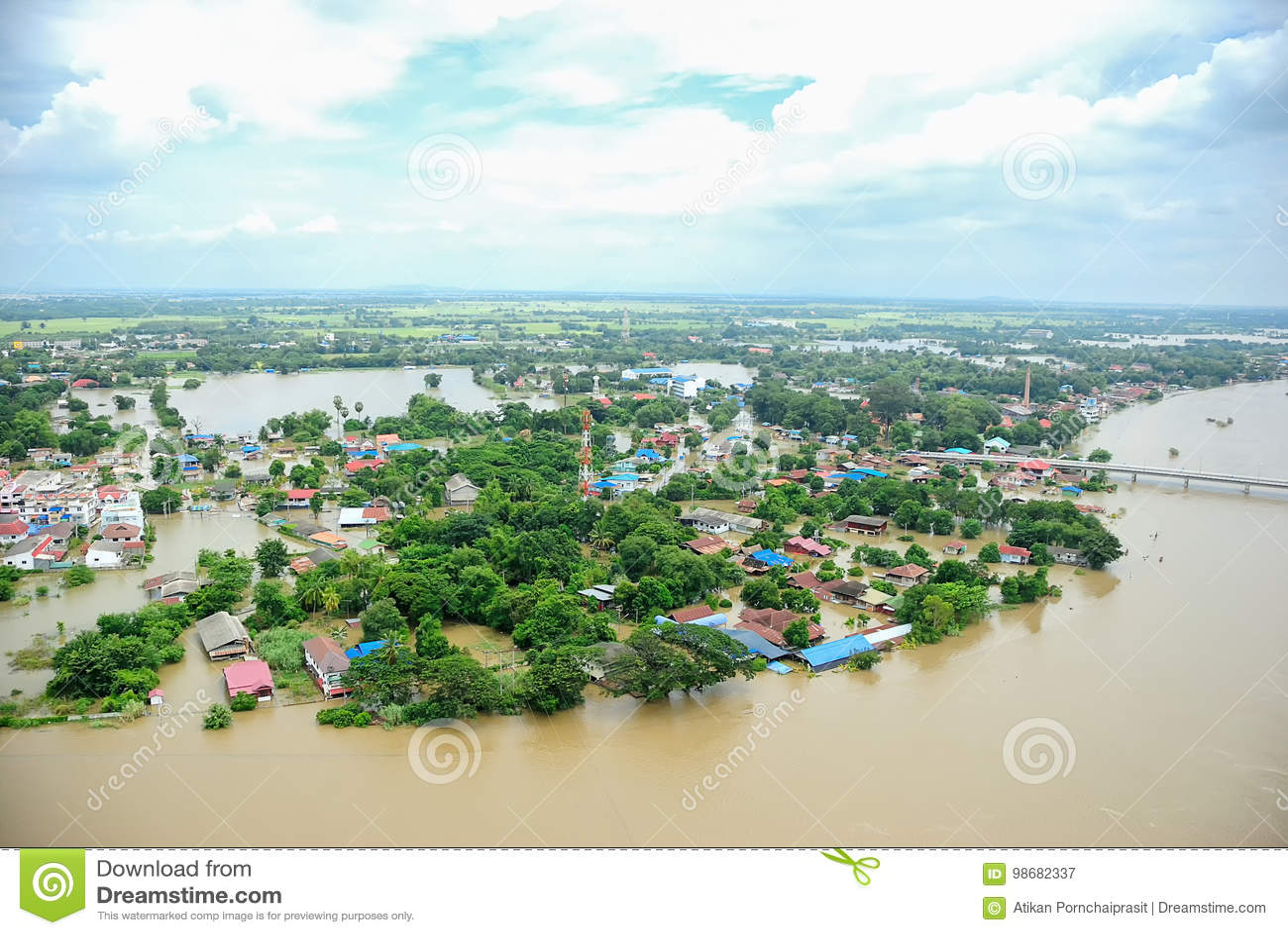Thailand floods, Natural Disaster