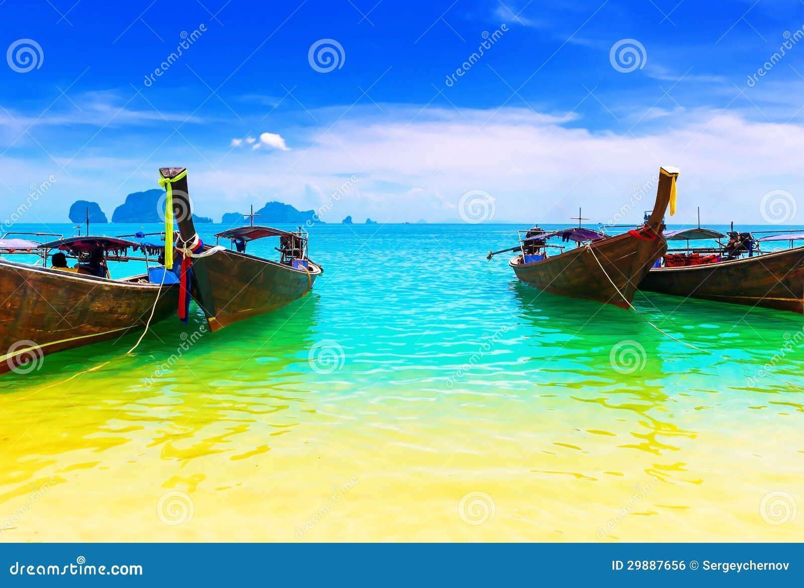 Thailand havstrand