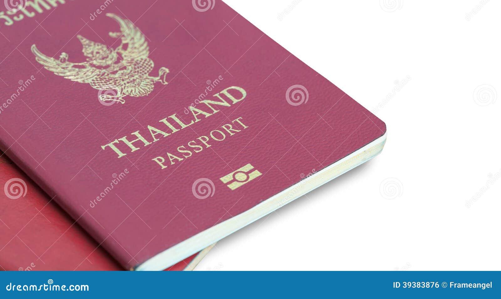Thailand Passport on table