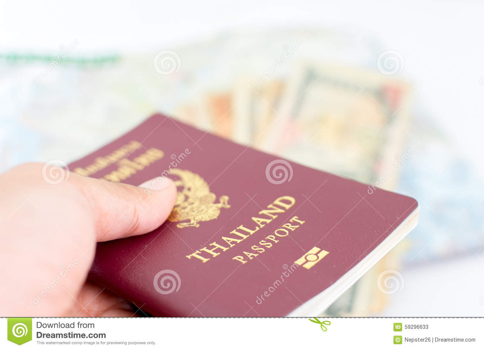 Thailand passport for tourism