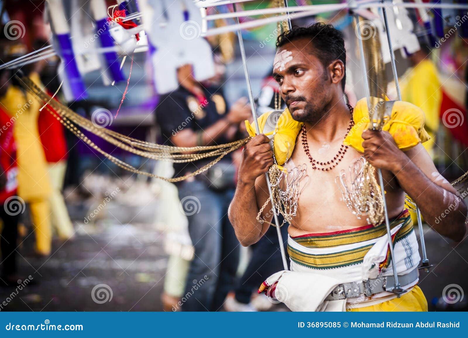 Download Thaipusam immagine editoriale. Immagine di eventi, turismo - 36895085