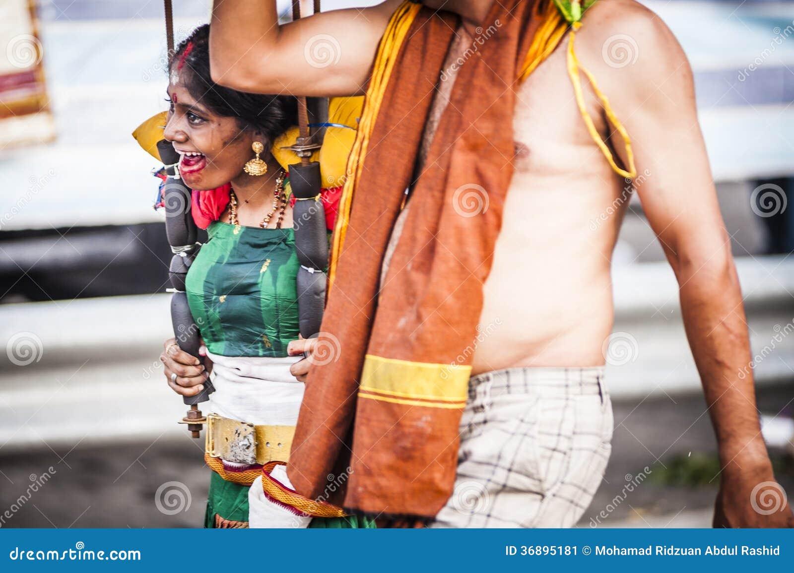 Download Thaipusam fotografia editoriale. Immagine di tamil, estratto - 36895181