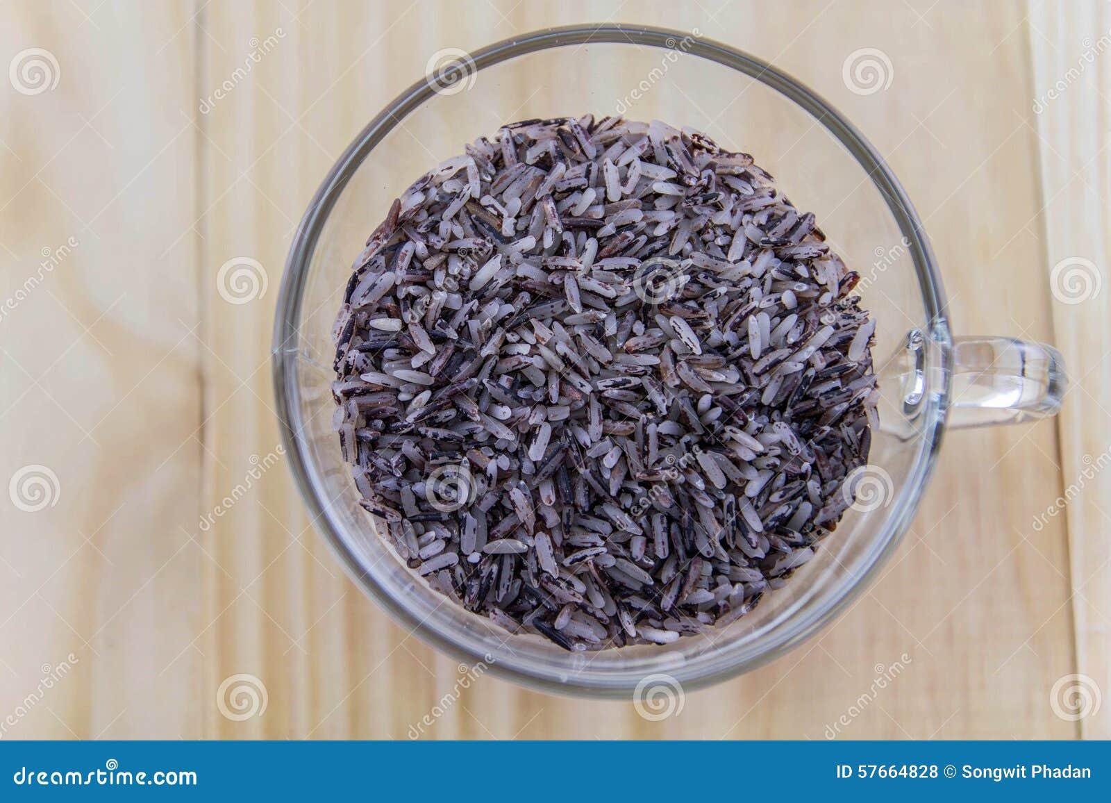 Thaise zwarte jasmijnrijst