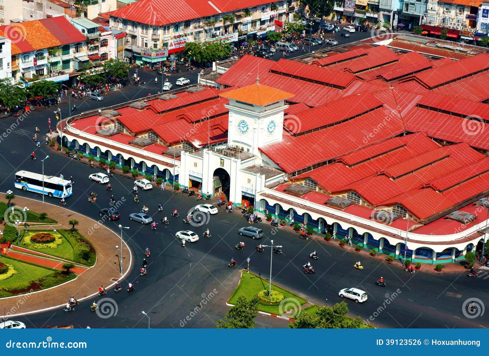 Thanh市场,胡志明,越南在天