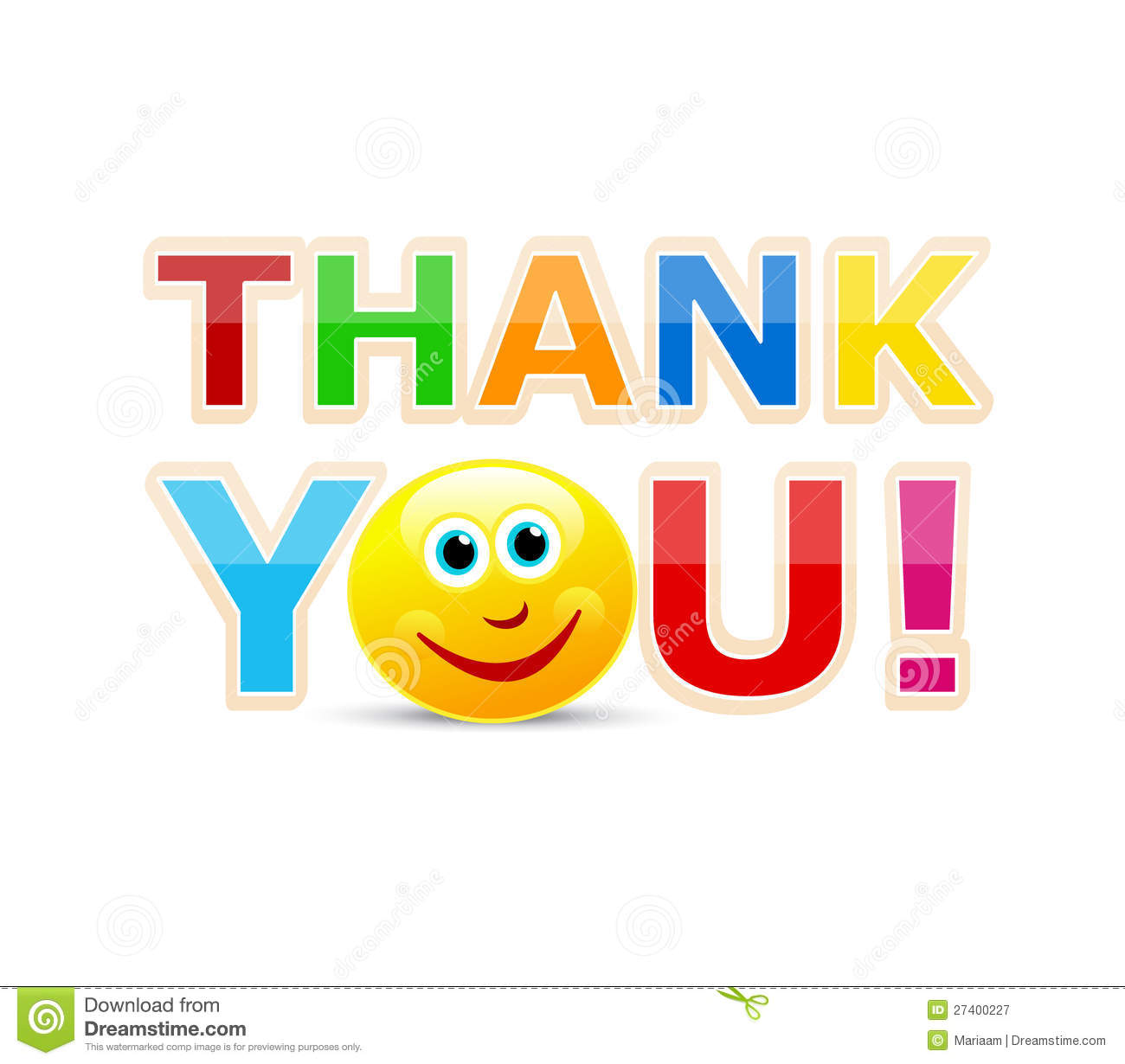 Thank You! Royalty Free Stock Photography - Image: 27400227