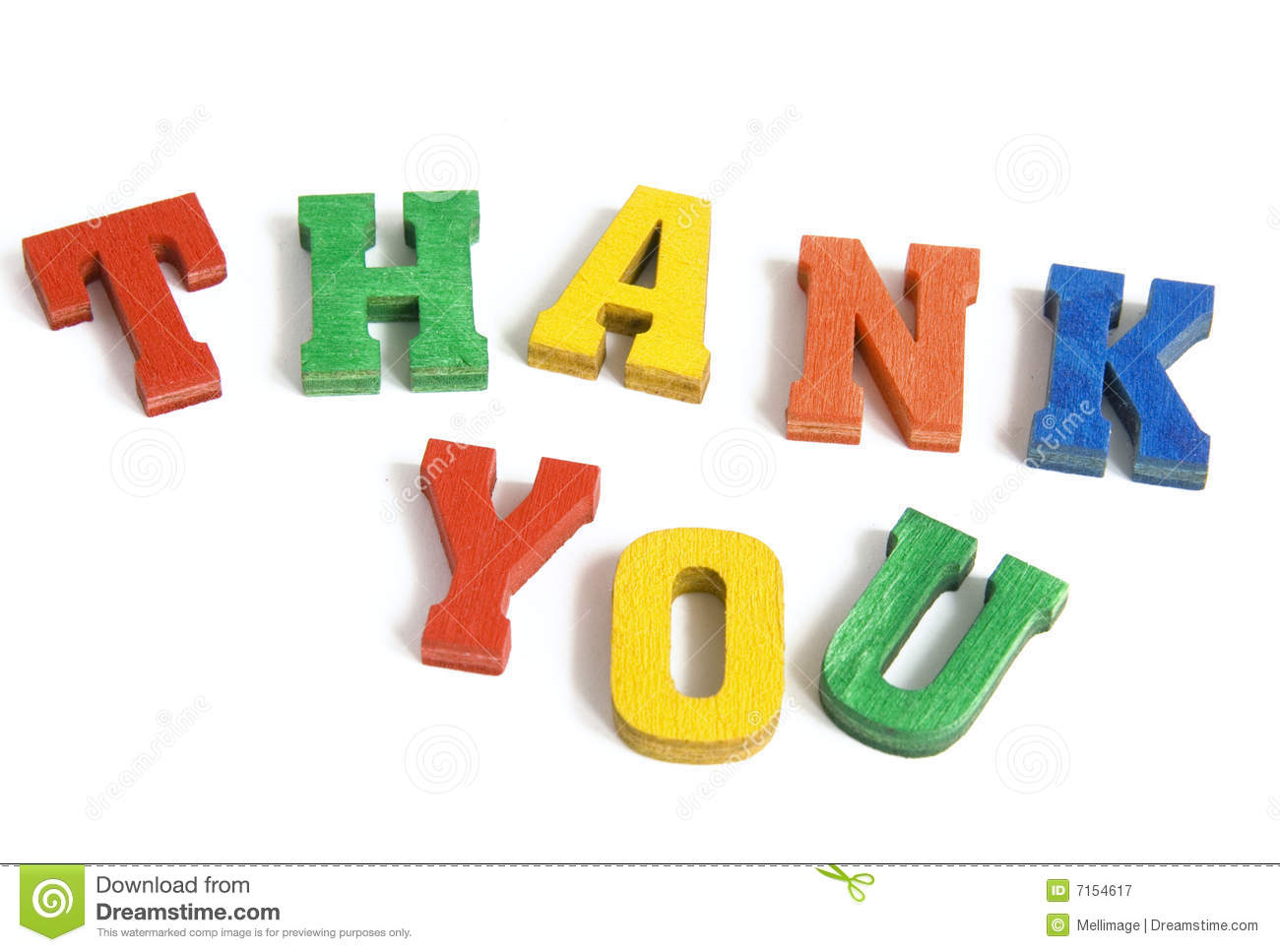 thank you stock image image of thank concept playful 7154617