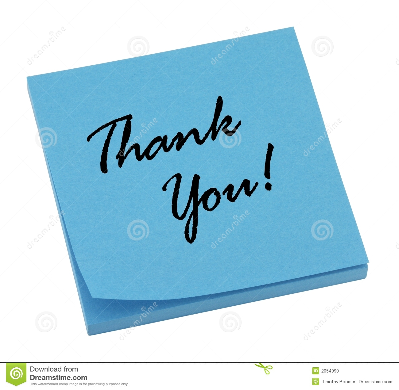 thank you blue stock photo  image of adhesive  bright
