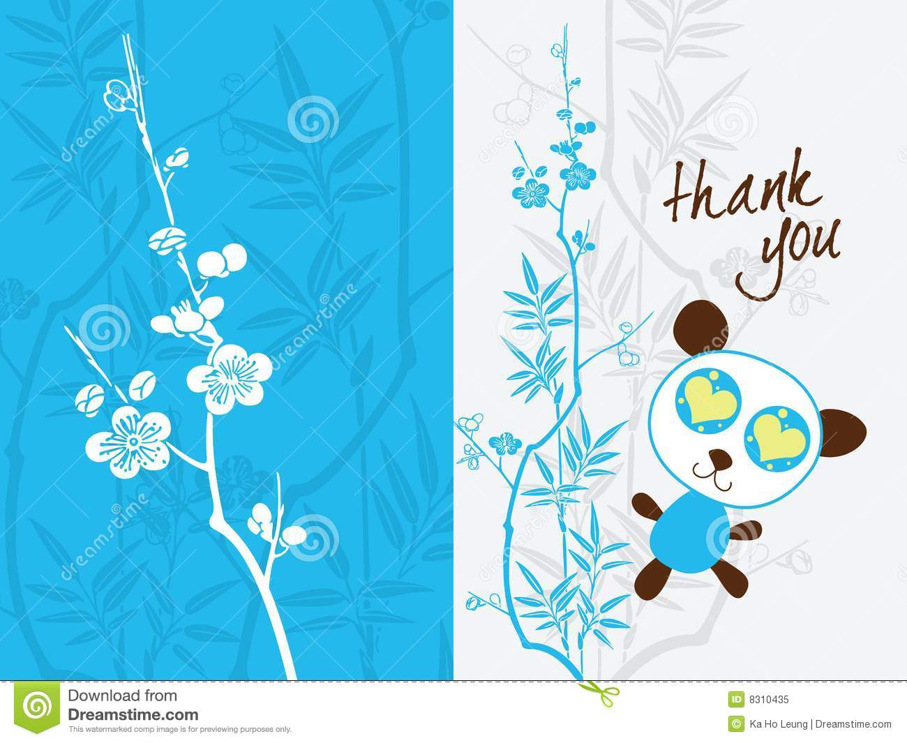 Thank You Card Template Royalty Free Photo Image 8310435 – Thank You Card Templates Free Download