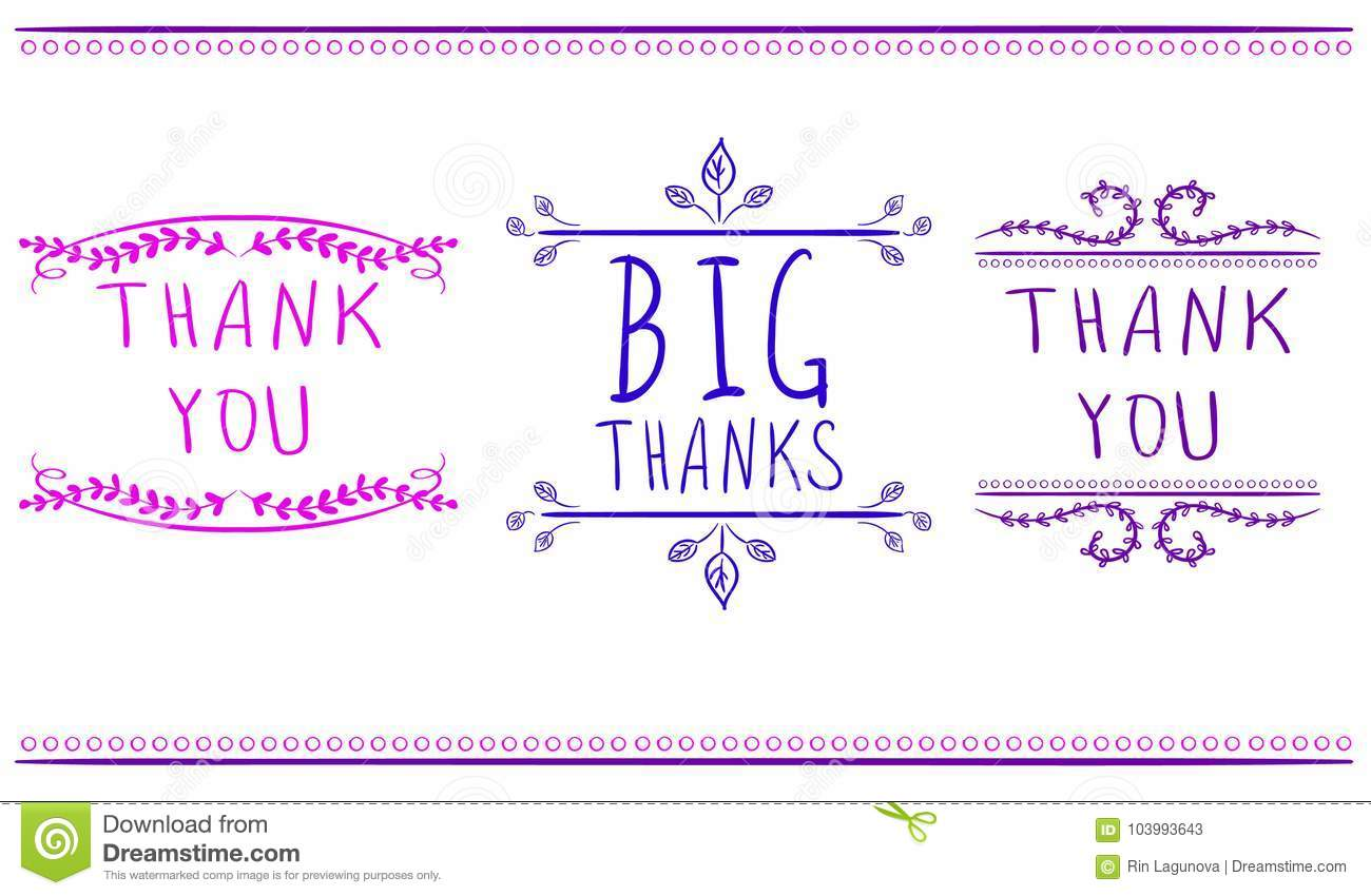 thank you cards templates