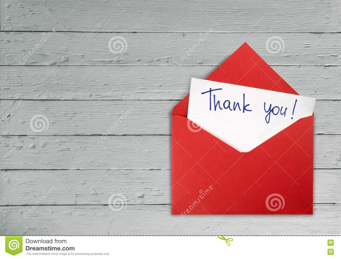 Thank You Stock Photo Image Of Text Message Writing 71357740